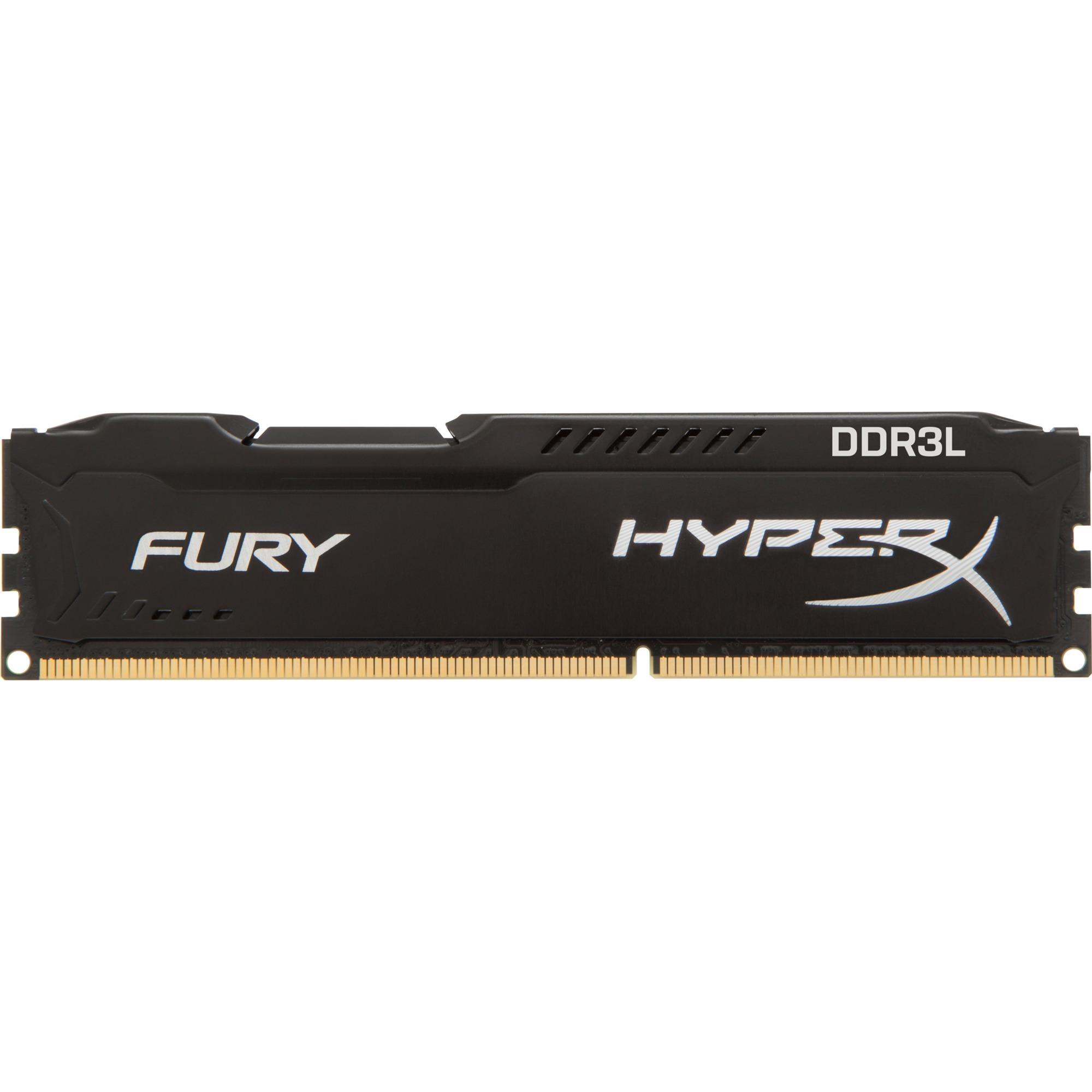Fury 8 Go DDR3L 1600 MHz CL10, Mémoire