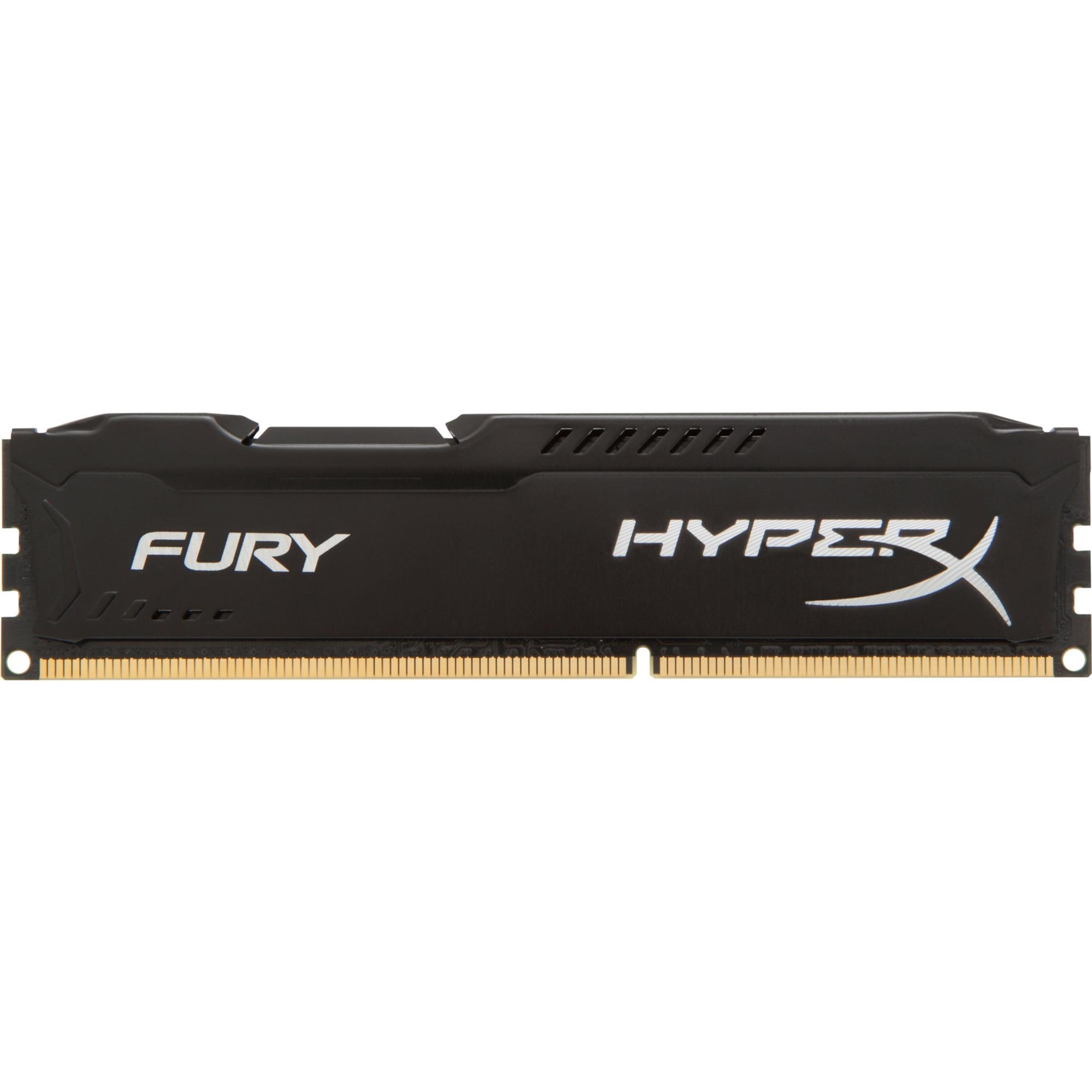Fury 8 Go DDR3 1600 MHz CL10, Mémoire