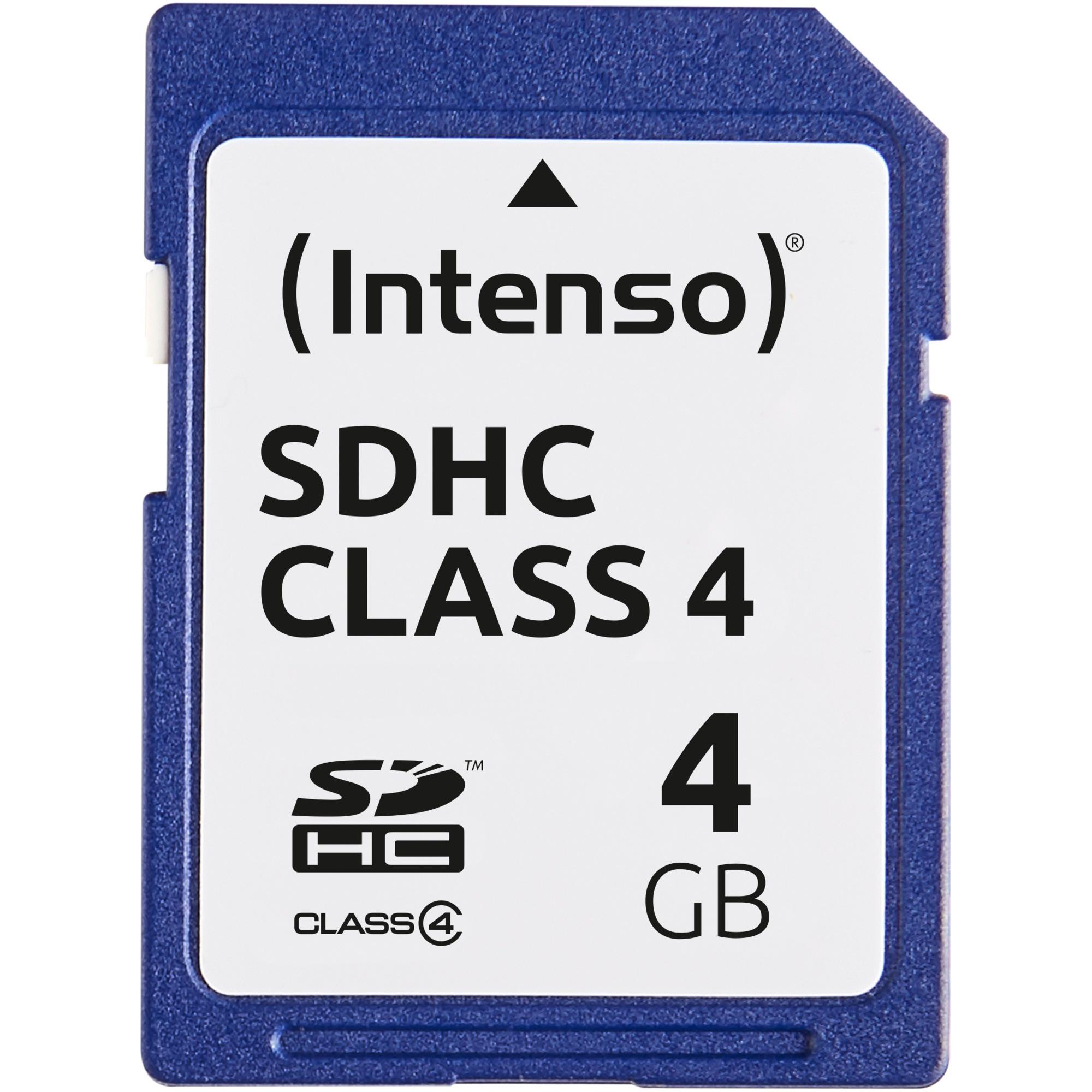 4 GB SDHC High Capacity 4Go SDHC mémoire flash, Carte mémoire
