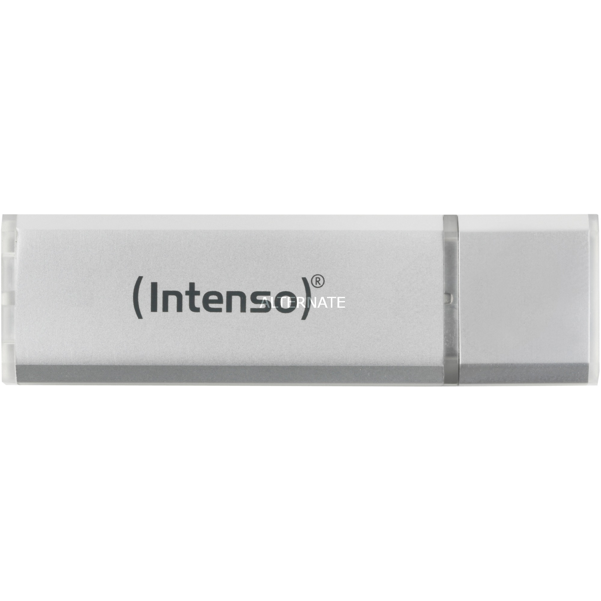 Alu Line USB 2.0, 4 GB 4Go USB 2.0 Type A Argent lecteur USB flash, Clé USB