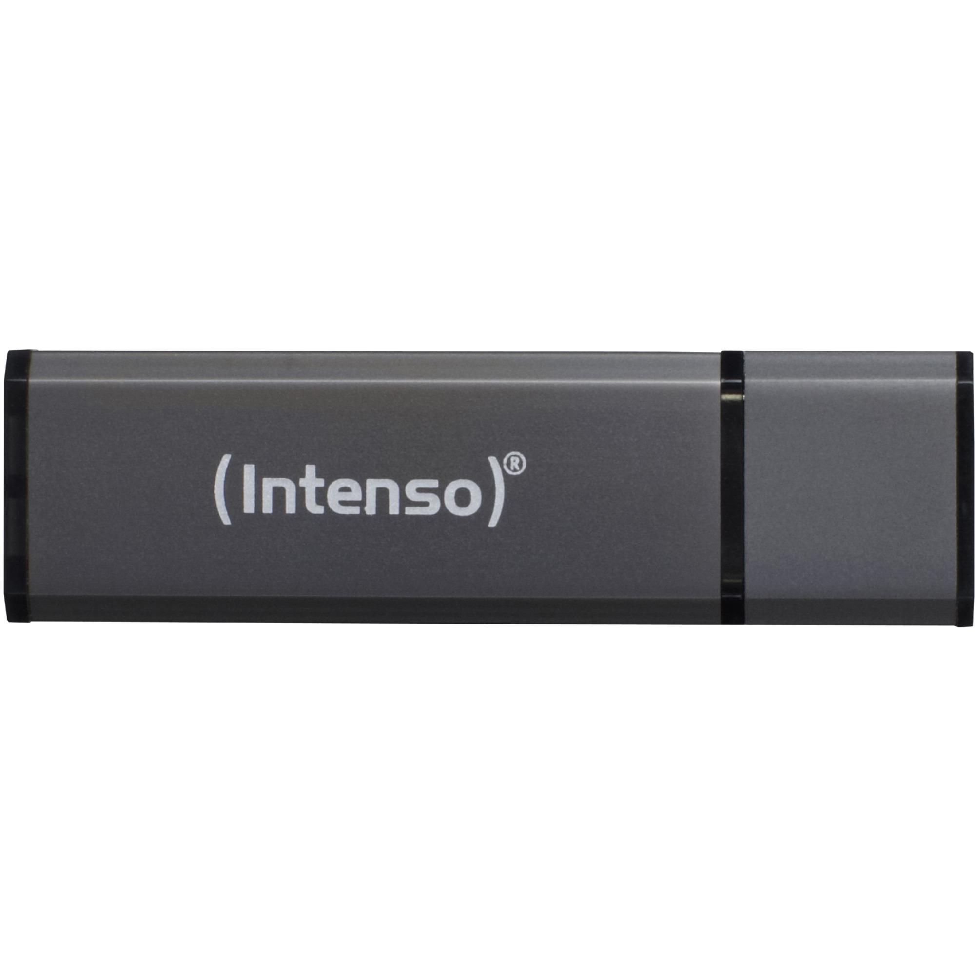 Alu Line USB 2.0, 4 GB 4Go USB 2.0 Type A Noir lecteur USB flash, Clé USB