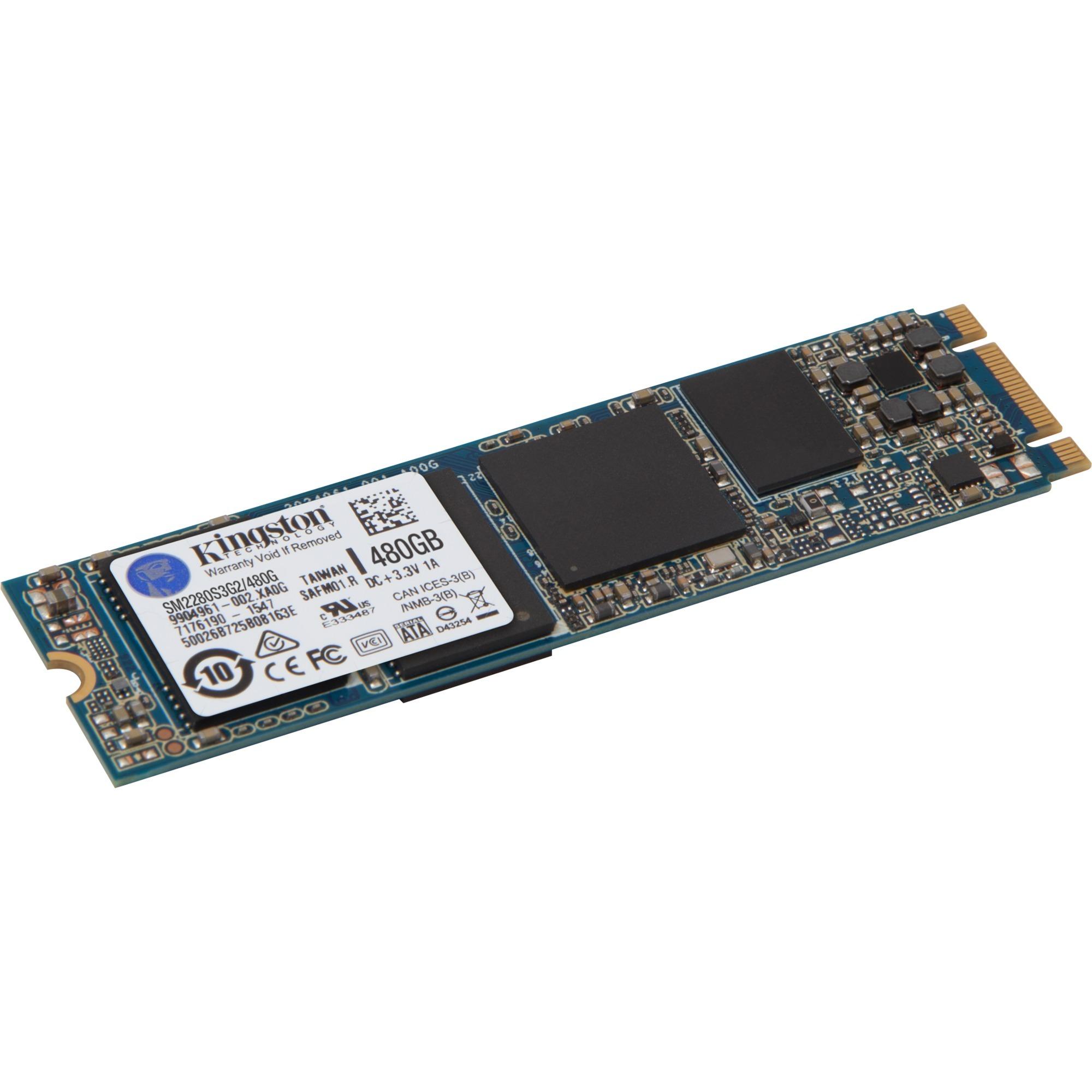 SSDNow M.2 SATA G2 Drive 480GB 480Go Série ATA III