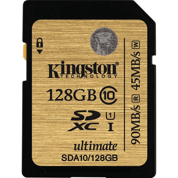 Secure Digital SDXC UHS-I 128 GB, Carte mémoire