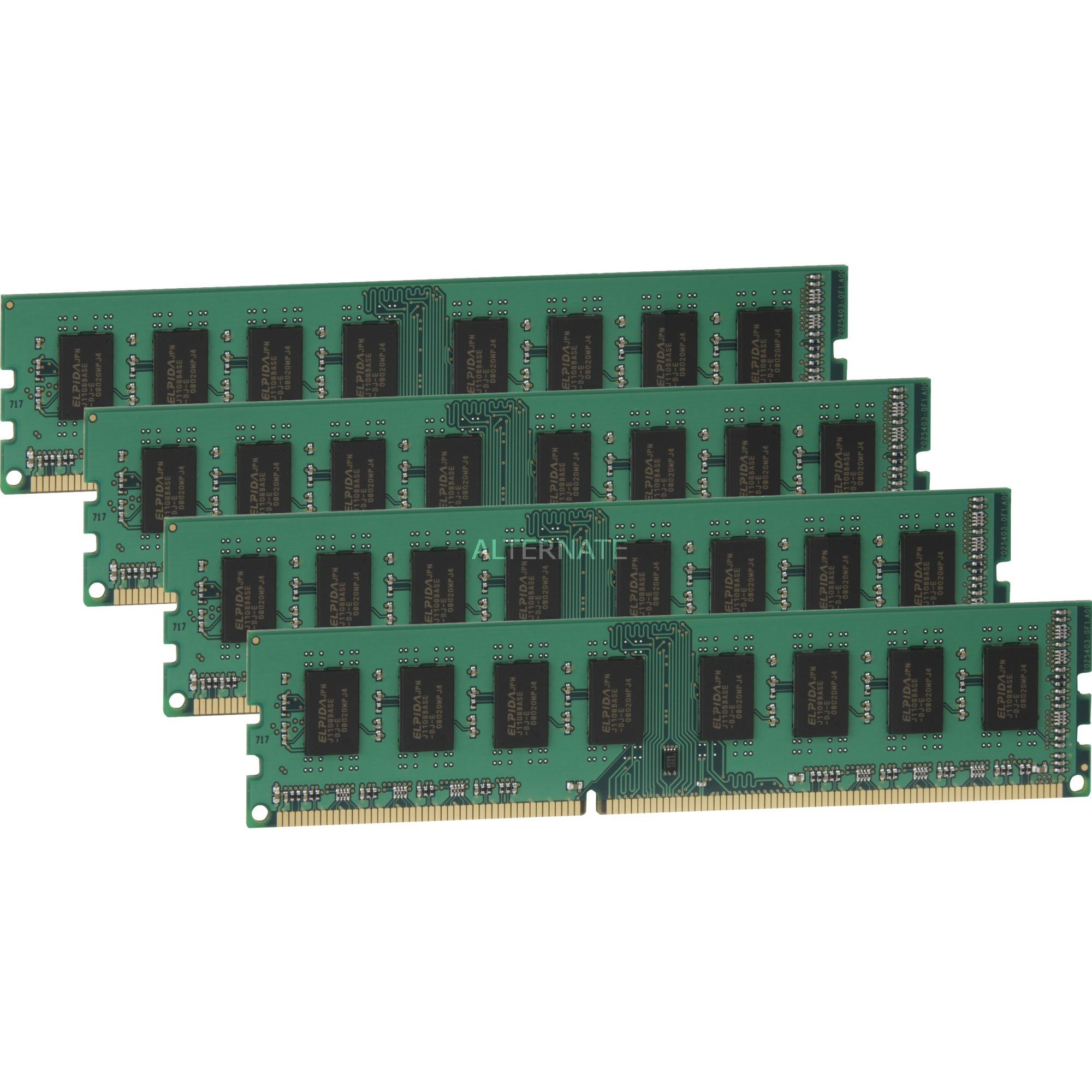 ValueRAM 32GB DDR3 1333MHz Kit 32Go DDR3 1333MHz module de mémoire