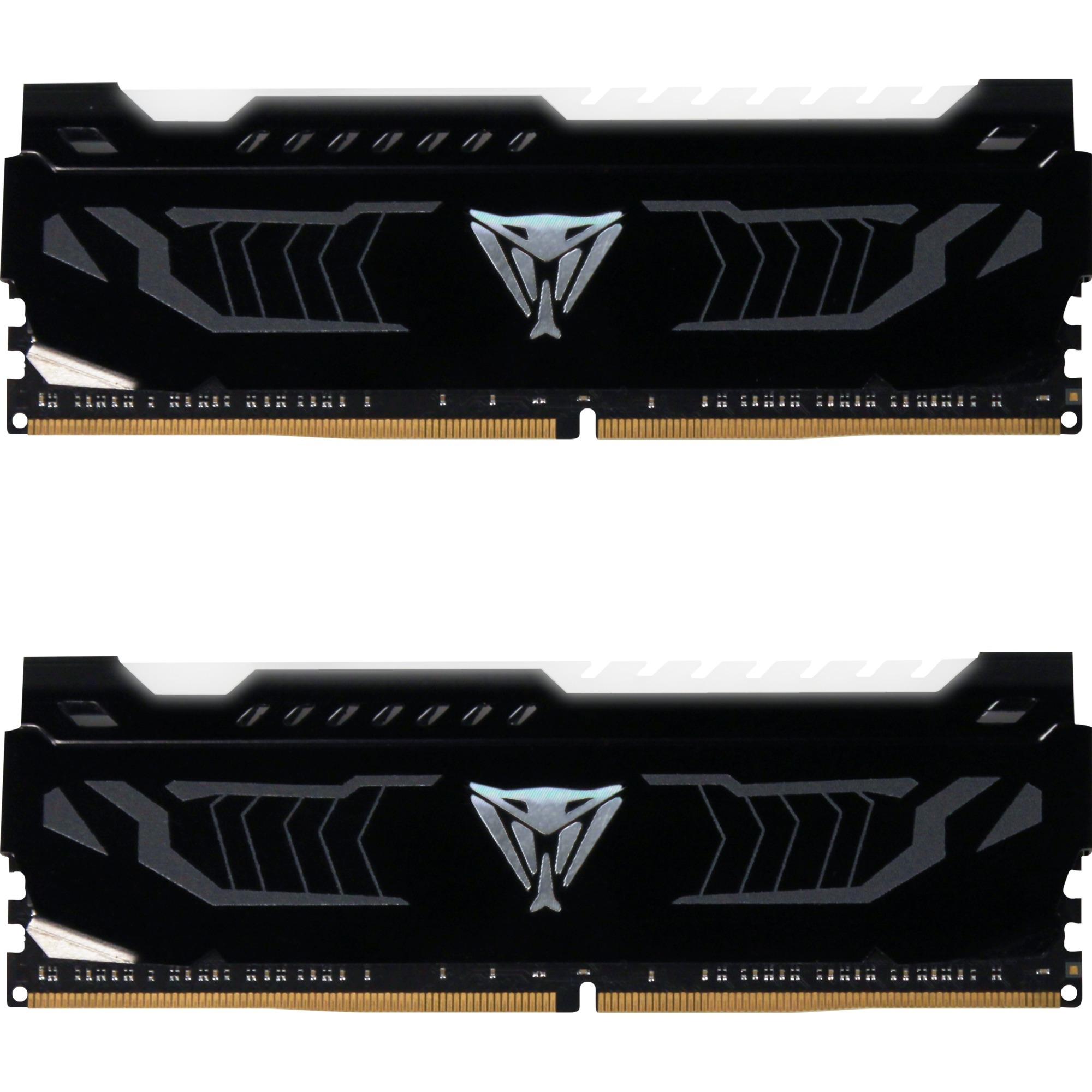 Viper White LED 16Go DDR4 3600MHz module de mémoire