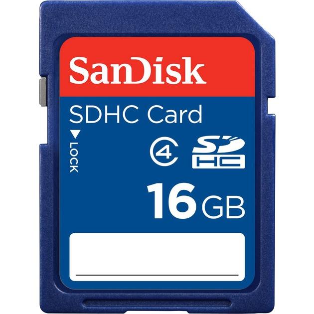 SDHC 16 GB 16Go SDHC Classe 4 mémoire flash, Carte mémoire