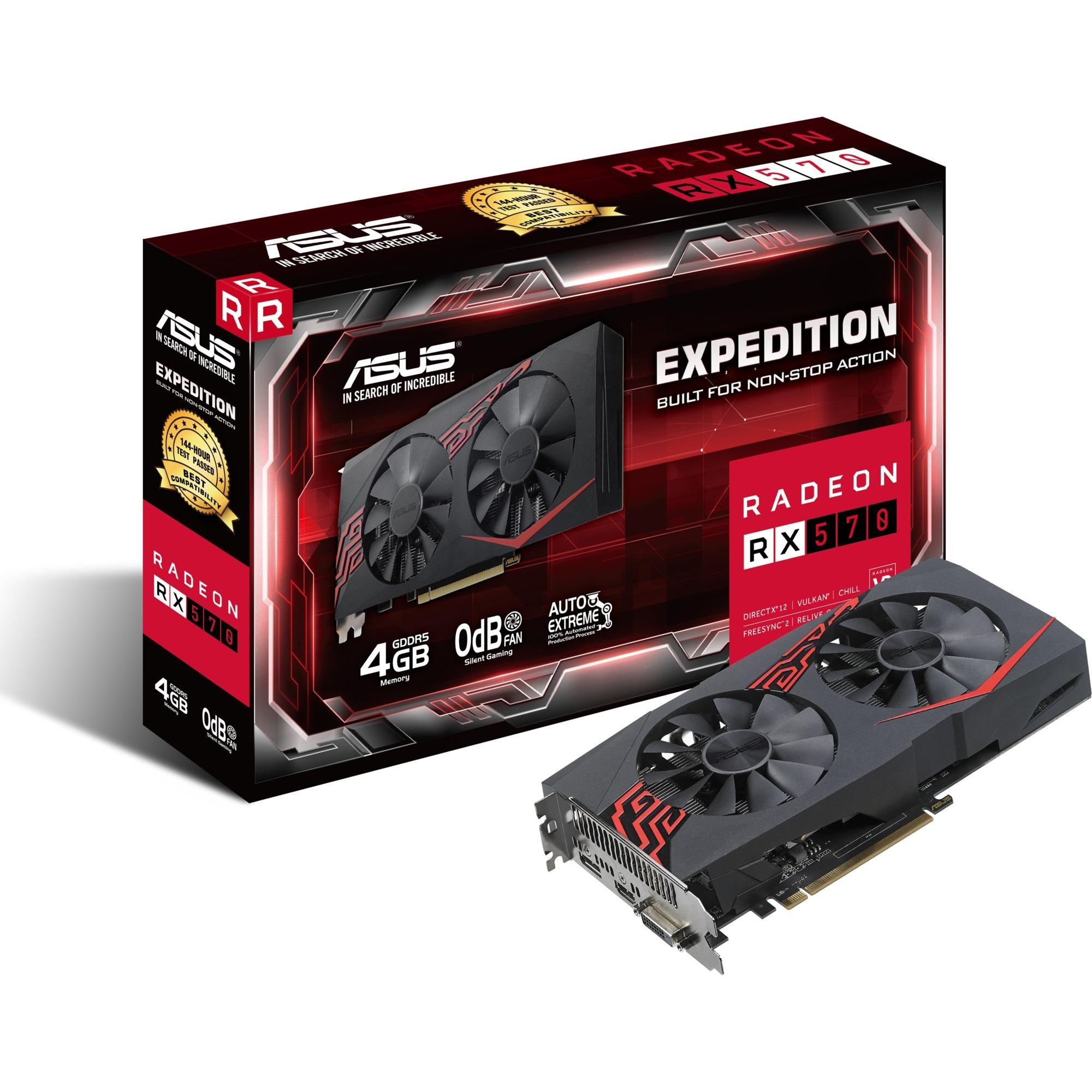 Expedition Radeon RX 570 4Go, Carte graphique