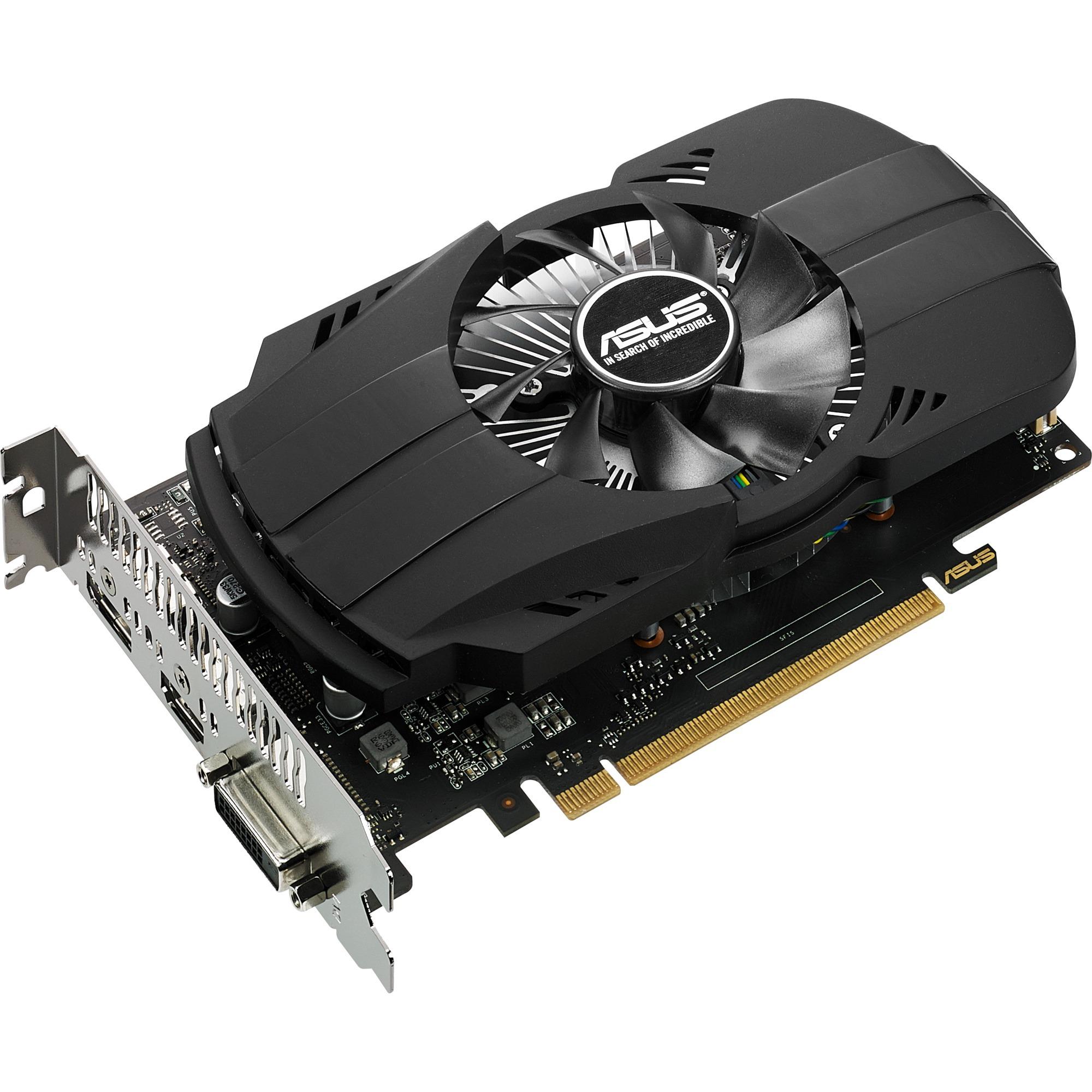 GeForce GTX 1050 2GB PHOENIX Fan Edition, Carte graphique