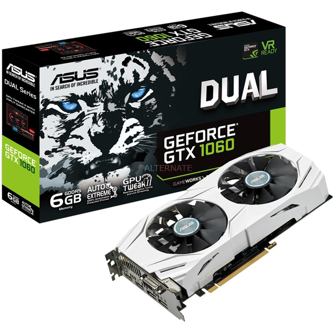 GeForce GTX 1060 DUAL 6G, Carte graphique