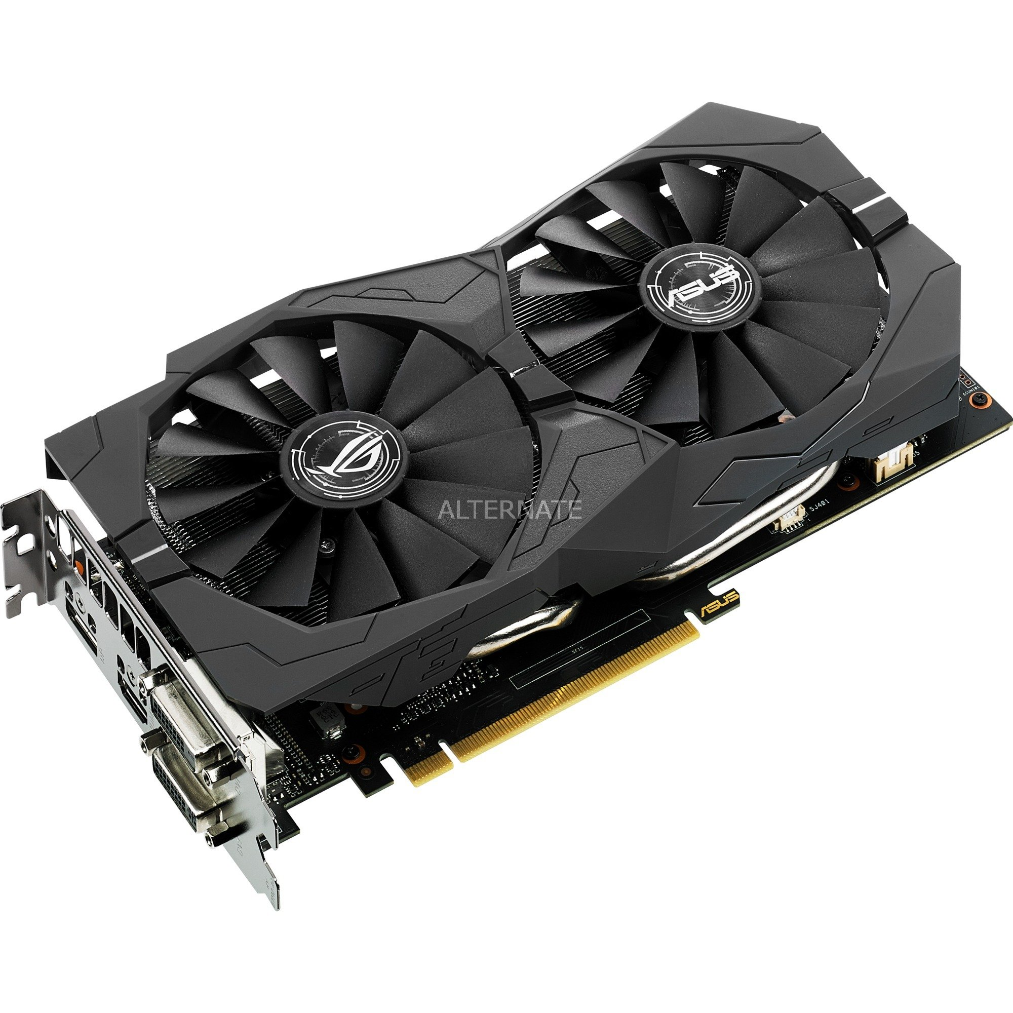 ROG Strix GeForce GTX 1050 2GB GDDR5, Carte graphique