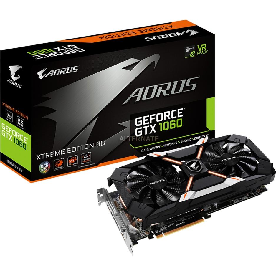 AORUS GeForce GTX 1060 Xtreme Edition 6G, Carte graphique