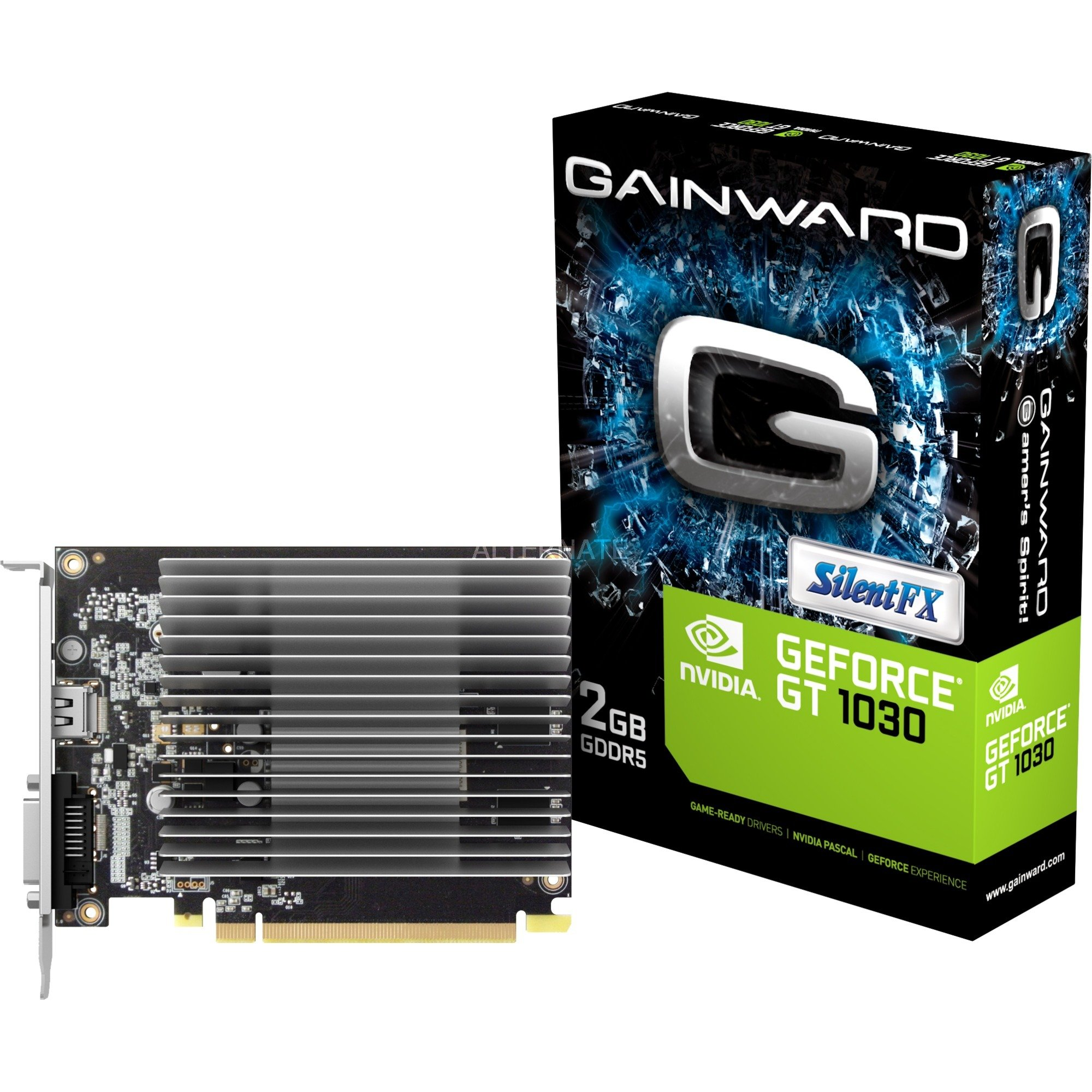 426018336-3927 GeForce GT 1030 2Go GDDR5, Carte graphique