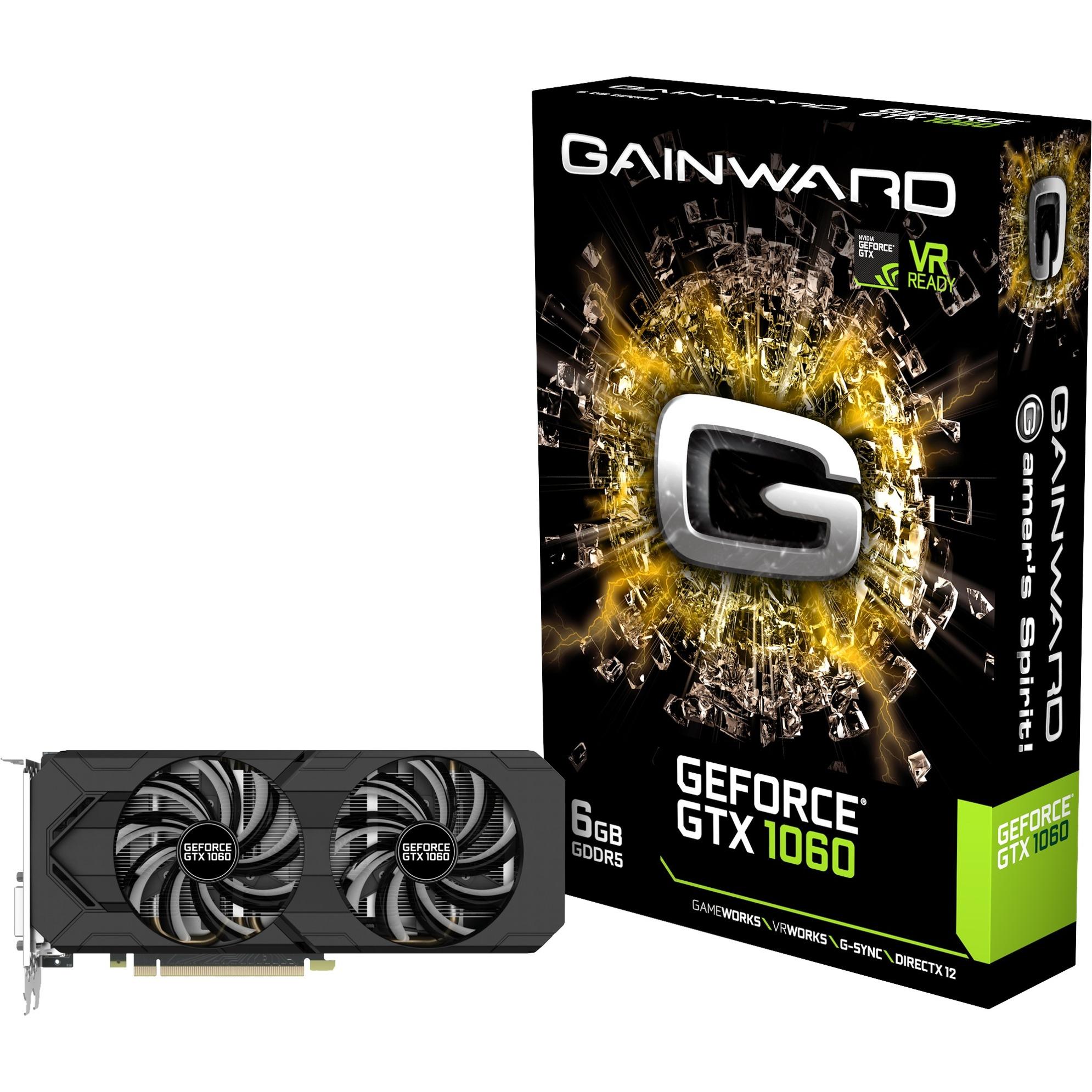 GeForce GTX 1060 6GB, Carte graphique