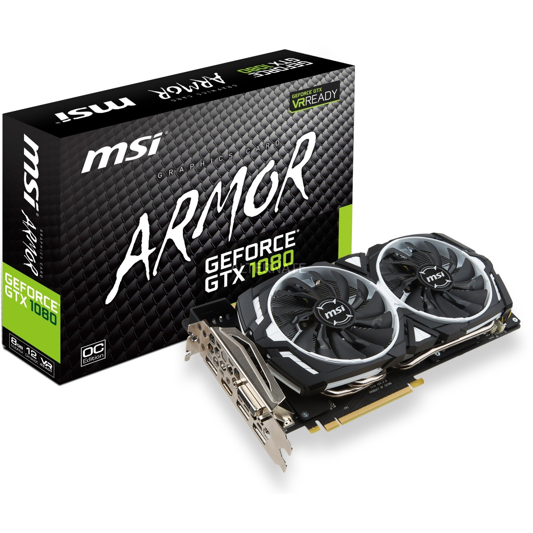 GeForce GTX 1080 ARMOR 8G OC, Carte graphique