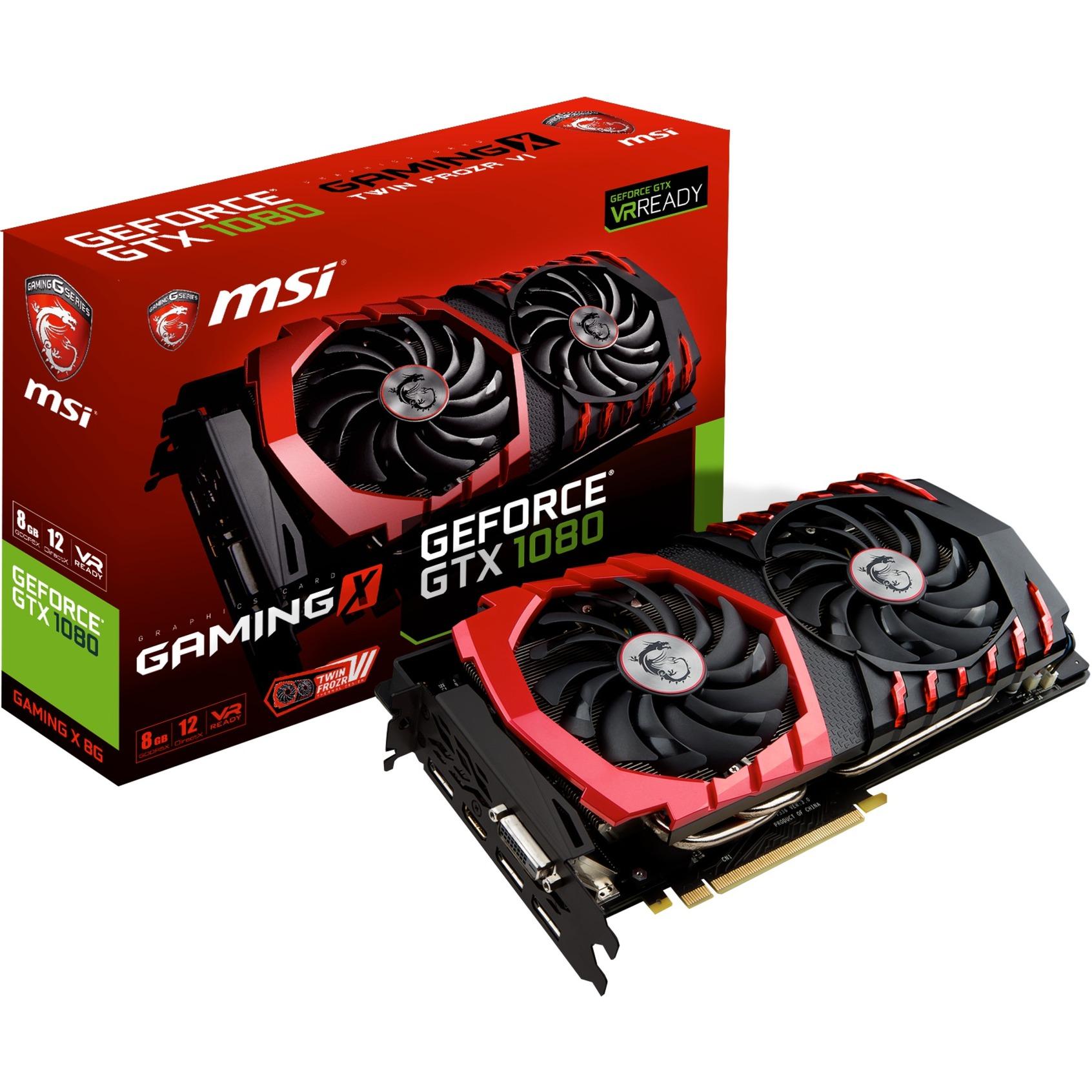 GeForce GTX 1080 Gaming X 8G, Carte graphique