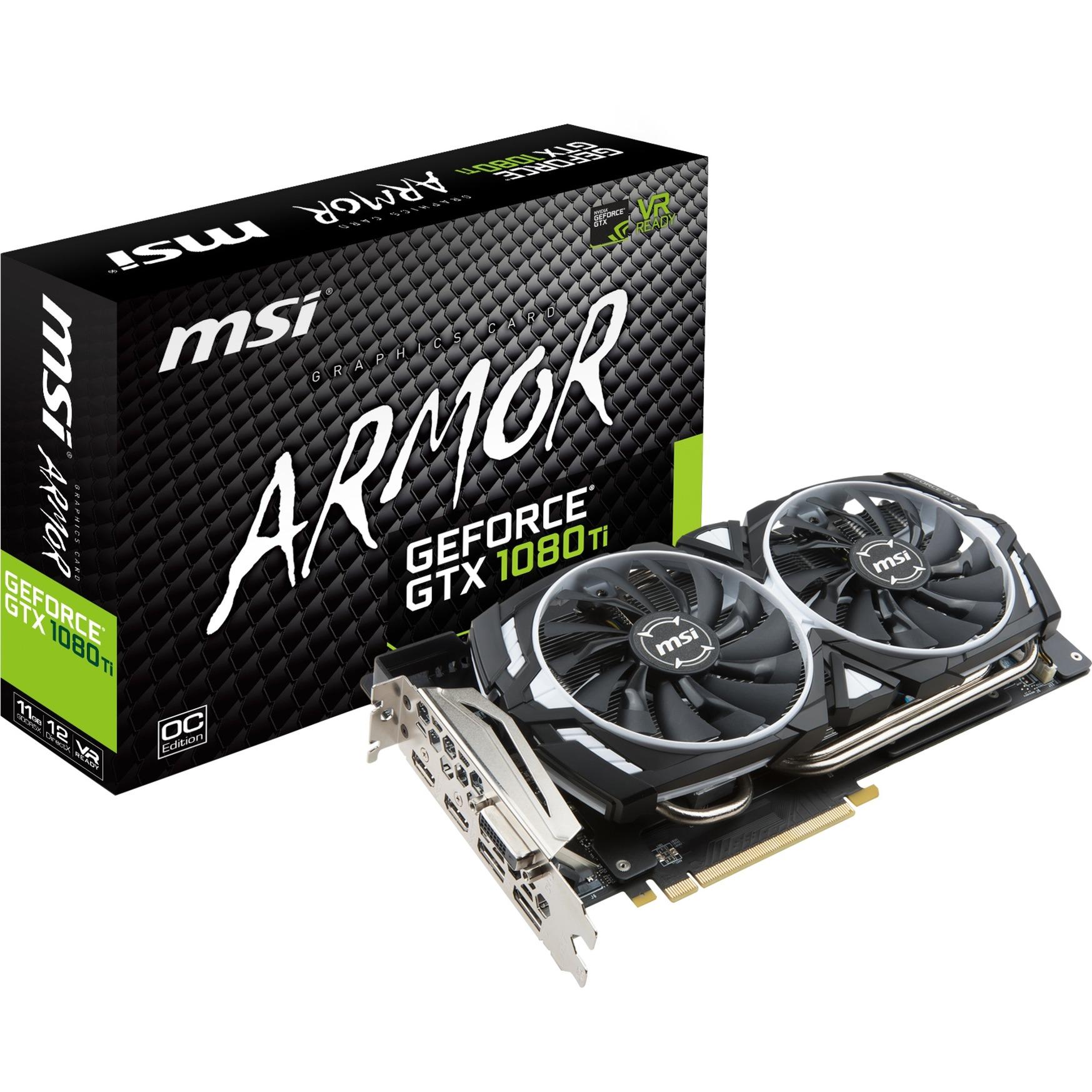 GeForce GTX 1080 Ti ARMOR 11G OC, Carte graphique