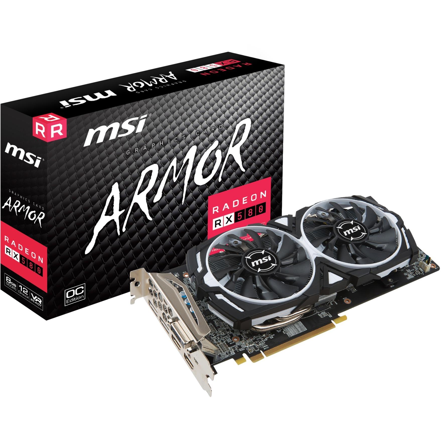 Radeon RX 580 ARMOR 8G OC, Carte graphique