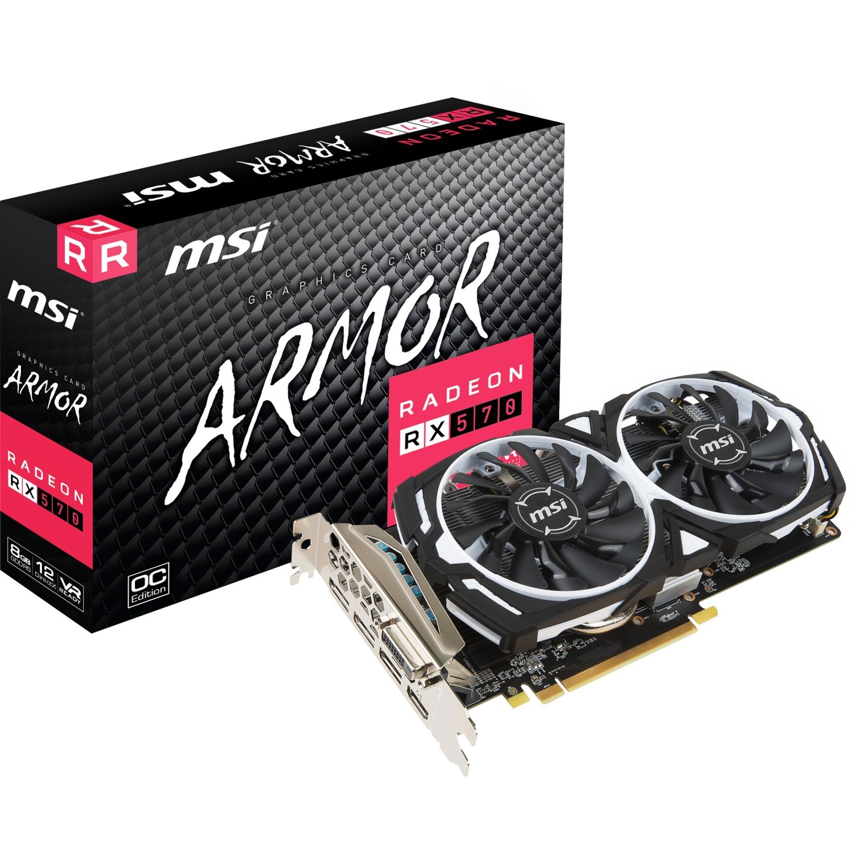 V341-236R Radeon RX 570 8Go GDDR5 carte graphique