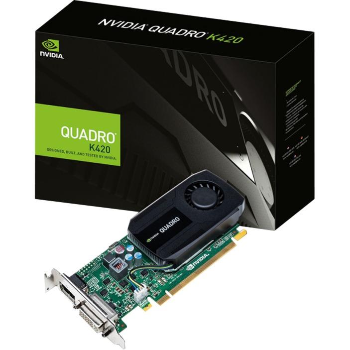 NVIDIA Quadro K420 2Go, Carte graphique