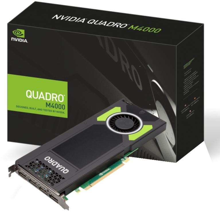 NVIDIA Quadro M4000, Carte graphique