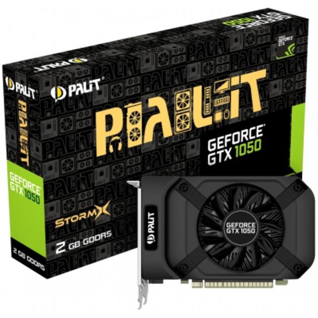 GeForce GTX 1050 StormX GeForce GTX 1050 2Go GDDR5, Carte graphique