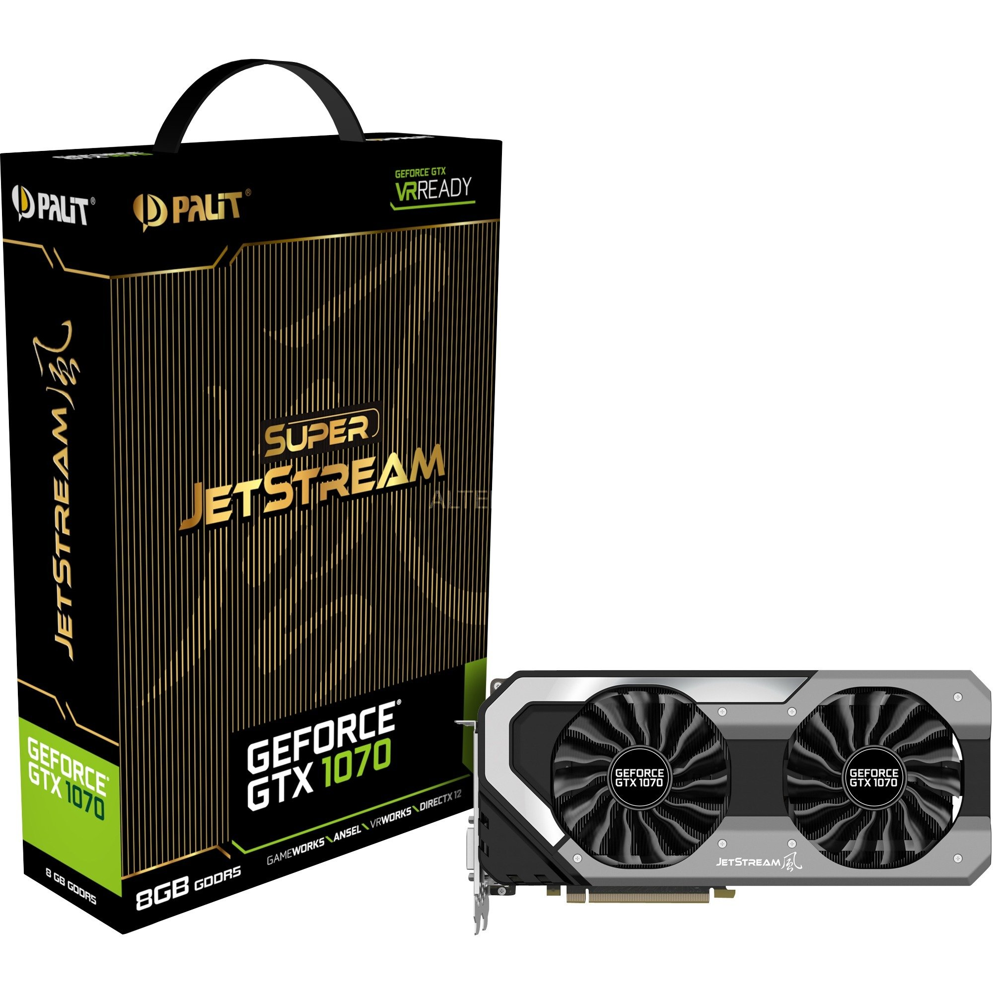 GeForce GTX 1070 Super Jetstream, Carte graphique