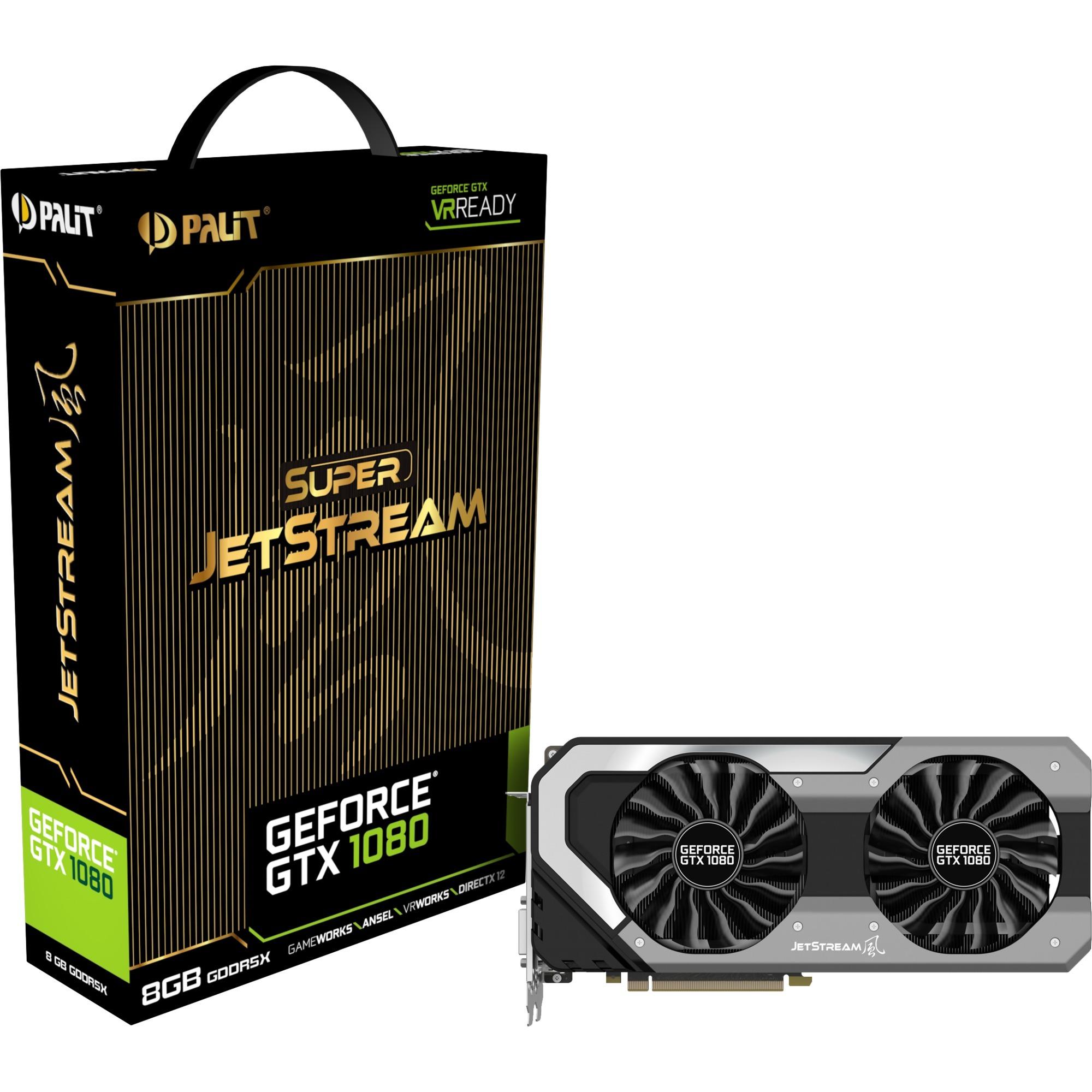 GeForce GTX 1080 Super Jetstream, Carte graphique