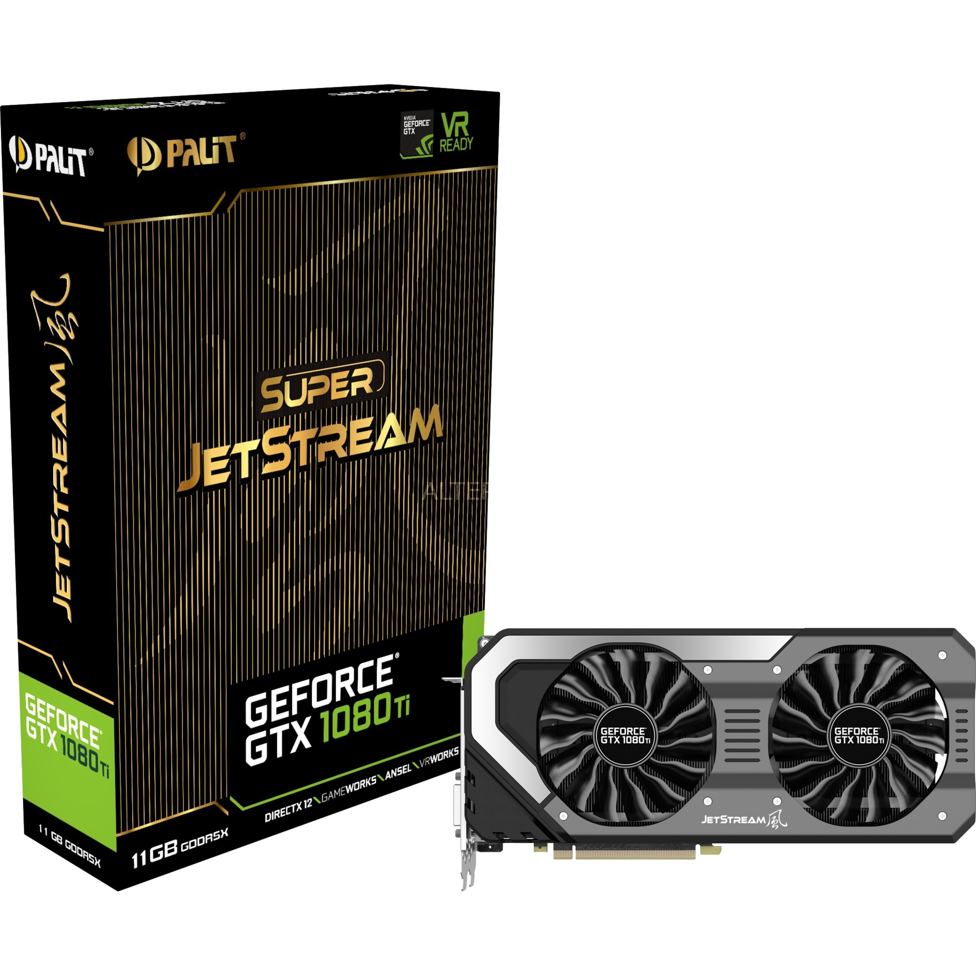 GeForce GTX 1080 Ti Super Jetstream, Carte graphique