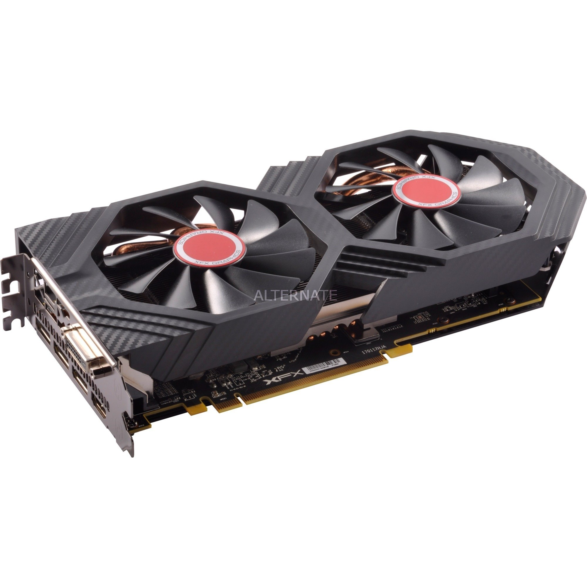 Radeon RX 580 GTS Black Edition 8Go, Carte graphique