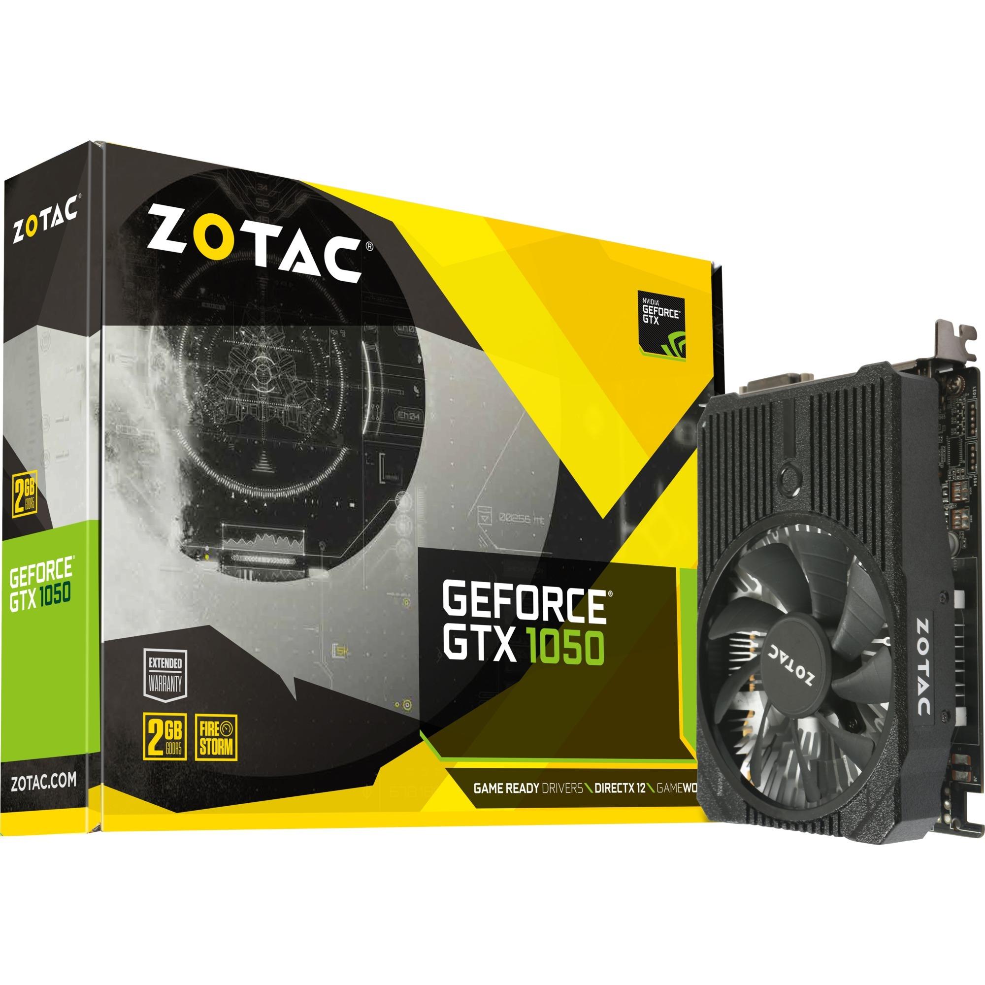GeForce GTX 1050 Mini GeForce GTX 1050 2Go GDDR5, Carte graphique