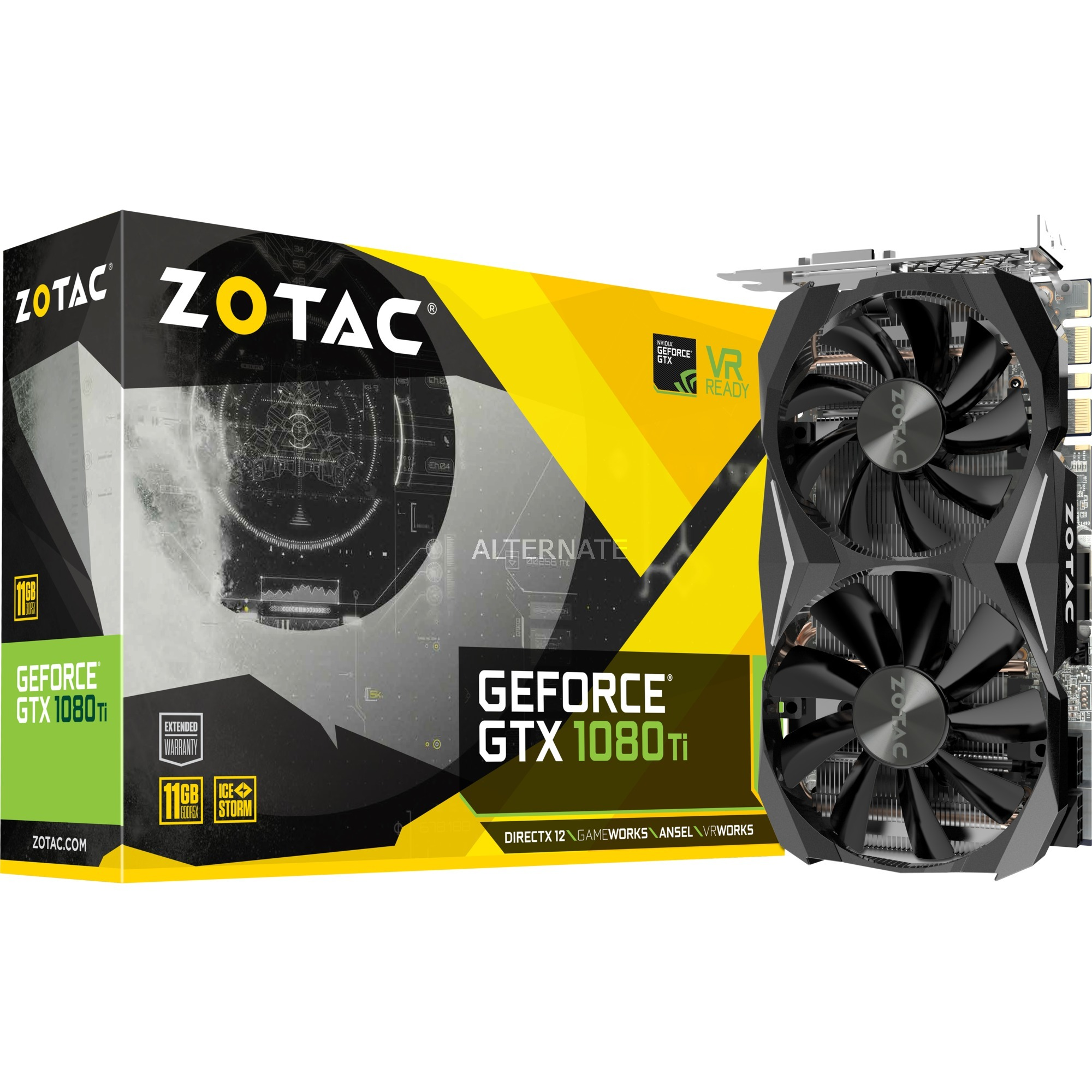 GeForce GTX 1080 Ti Mini GeForce GTX 1080 Ti 11Go GDDR5X, Carte graphique