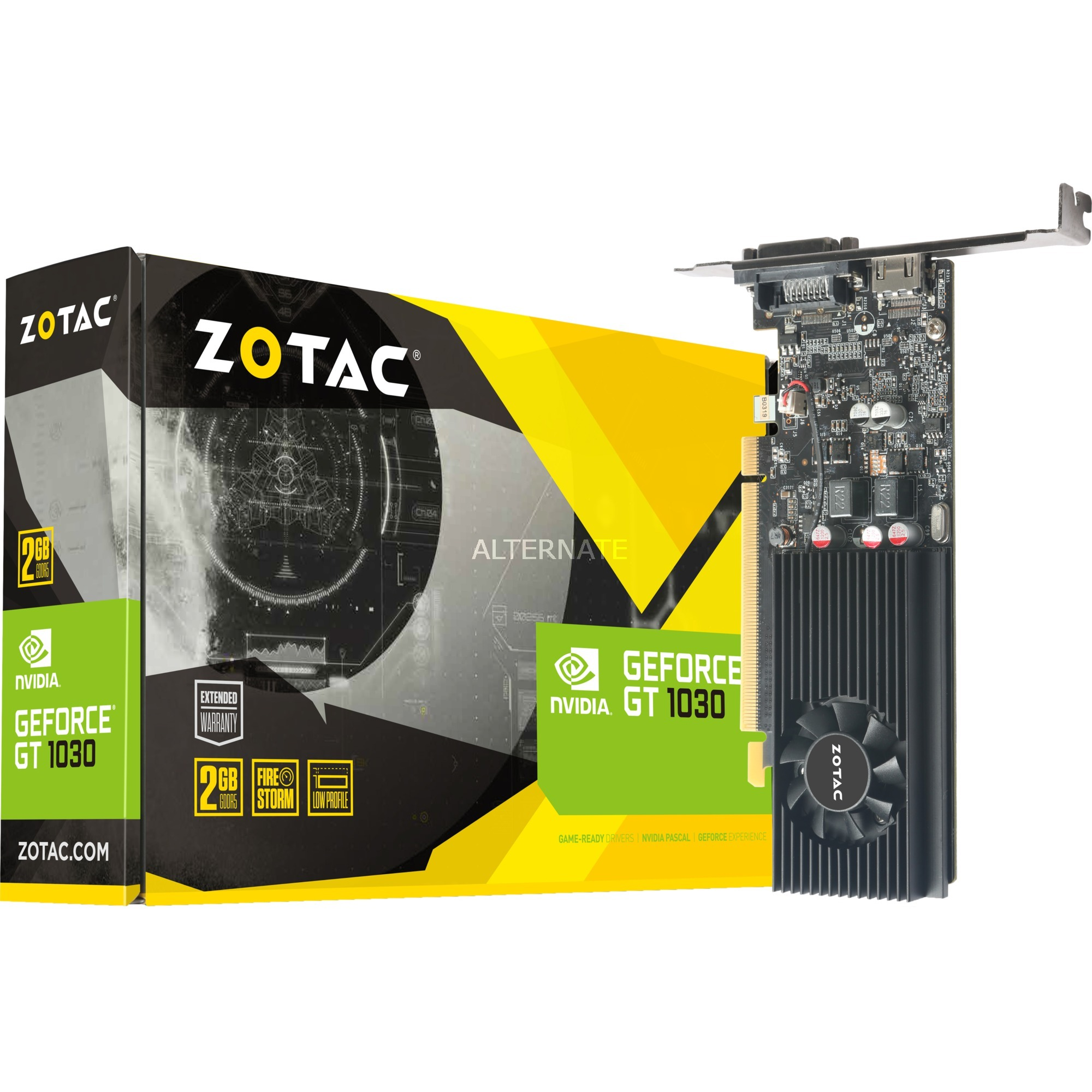 ZT-P10300A-10L GeForce GT 1030 2Go GDDR5 carte graphique