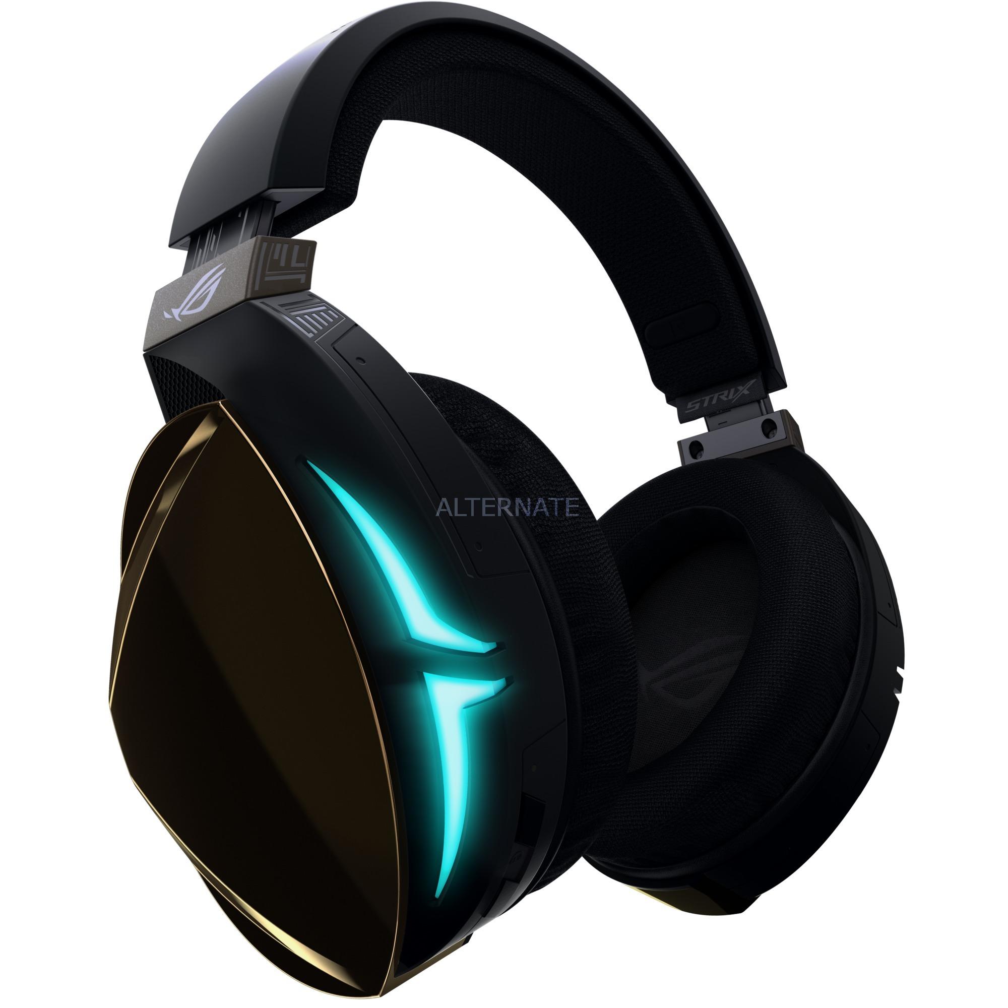 ROG Strix Fusion 500 Binaural Bandeau Noir Casque audio, Casque d'écoute