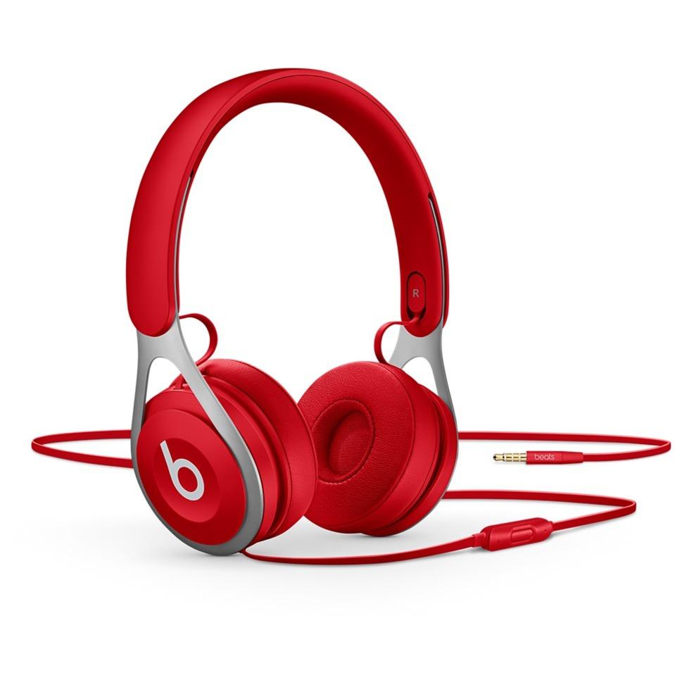 Beats EP Bandeau Binaural Avec fil Rouge casque et micro
