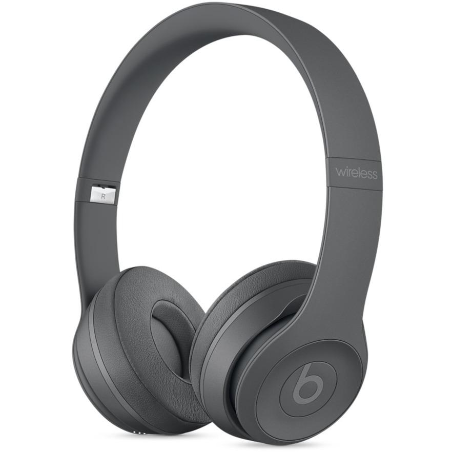 Beats Solo3 Bandeau Binaural Avec fil/sans fil Gris casque et micro