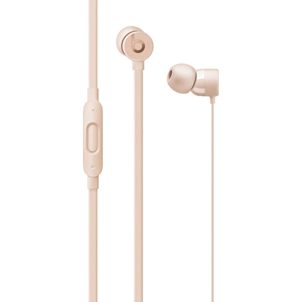 urBeats3 écouteur Binaural Avec fil Or casque et micro