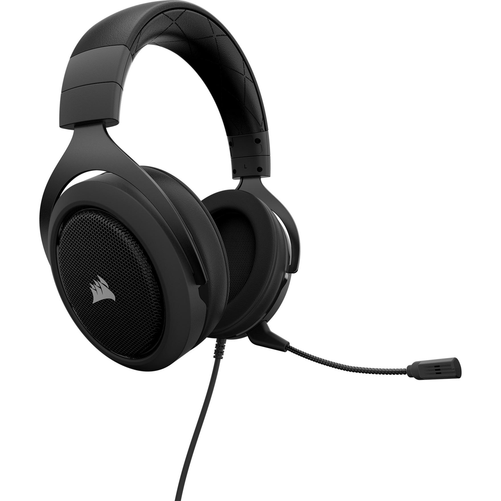 HS60 Binaural Bandeau Noir, charbon Casque audio, Casque d'écoute