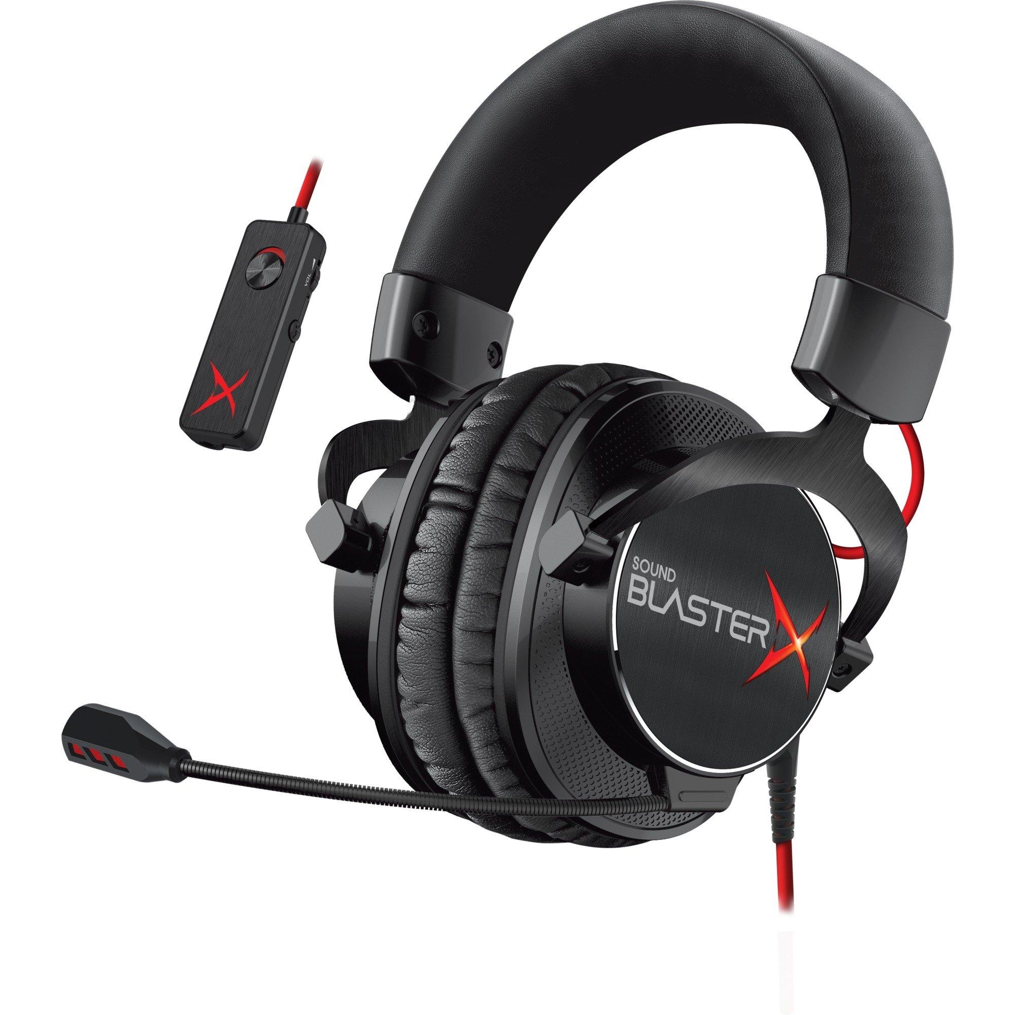 Sound BlasterX H7 Tournament Edition, Casque d'écoute