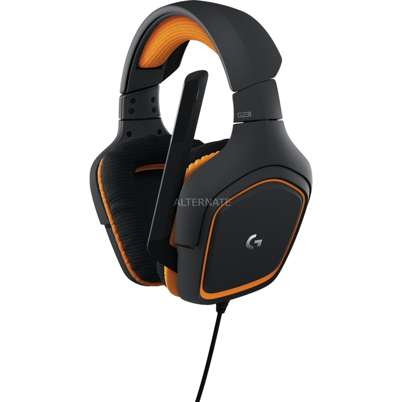 G231 Prodigy Gaming Headset, Casque d'écoute