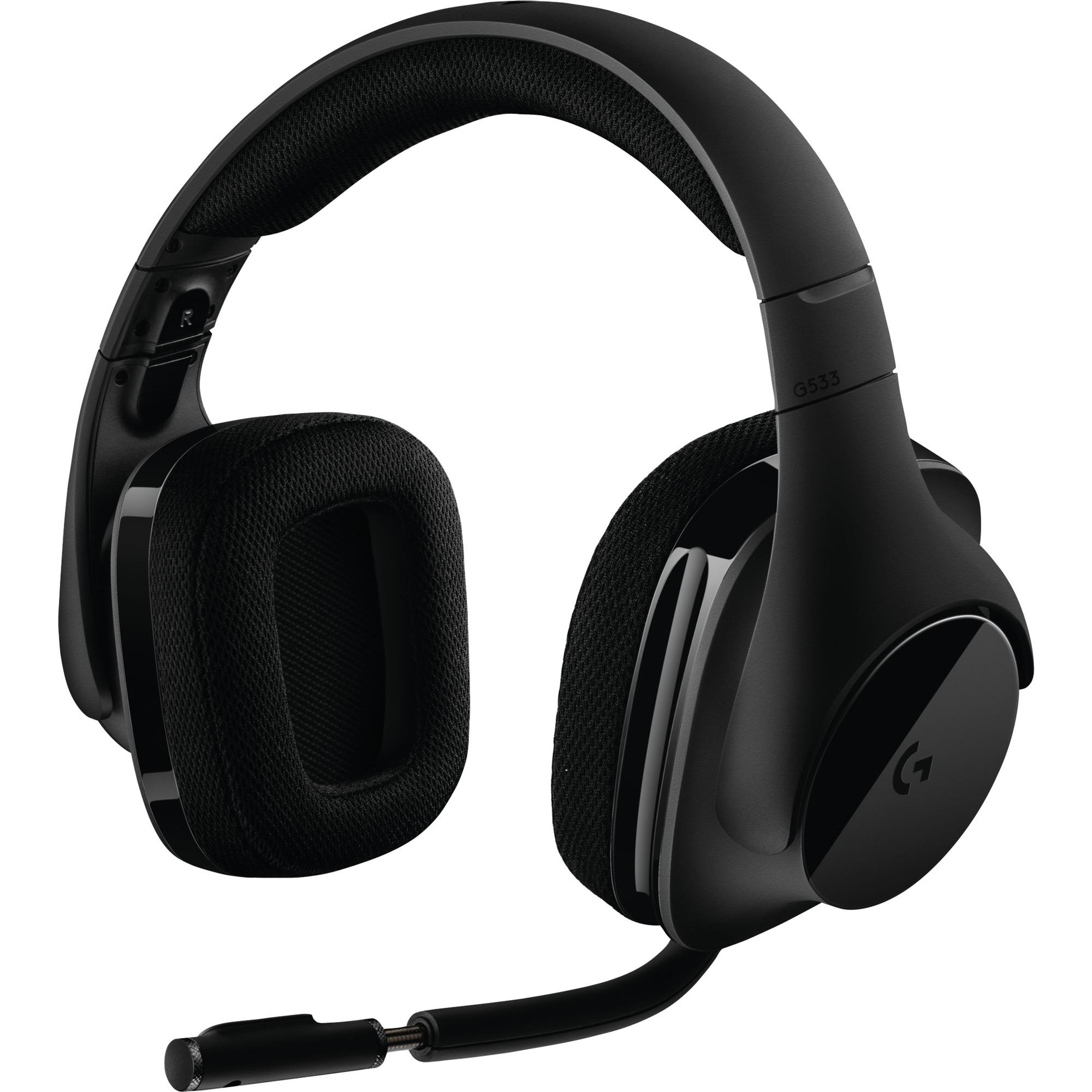 G533 Wireless Monophonique Bandeau Noir Casque audio, Casque d'écoute