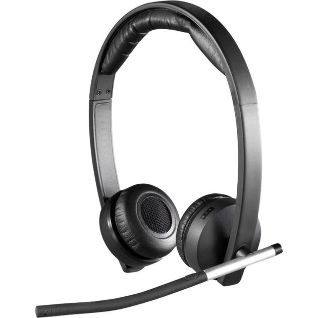H820e Binaural Bandeau Noir Casque audio, Casque d'écoute