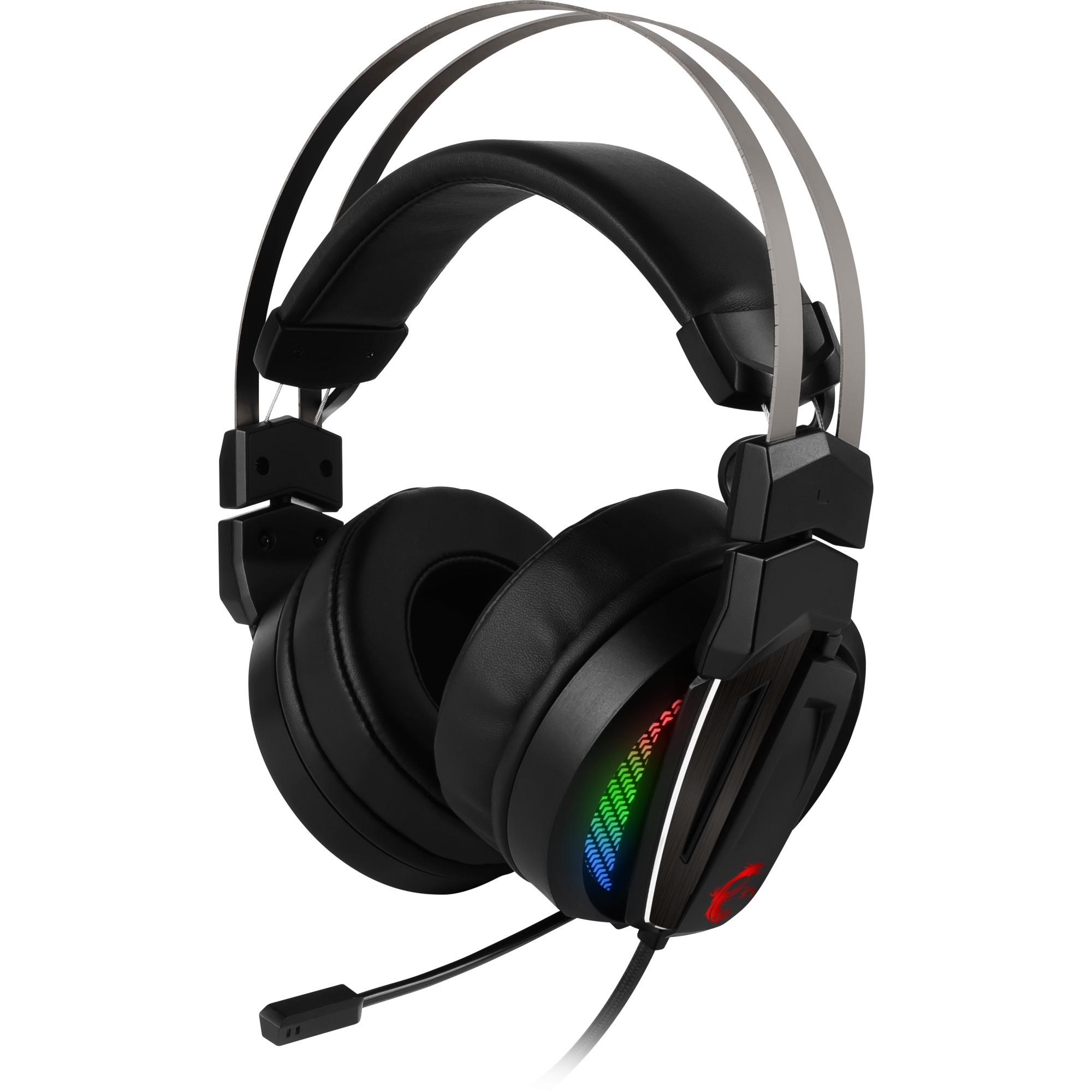 Immerse GH70 Binaural Bandeau Noir Casque audio, Casque d'écoute