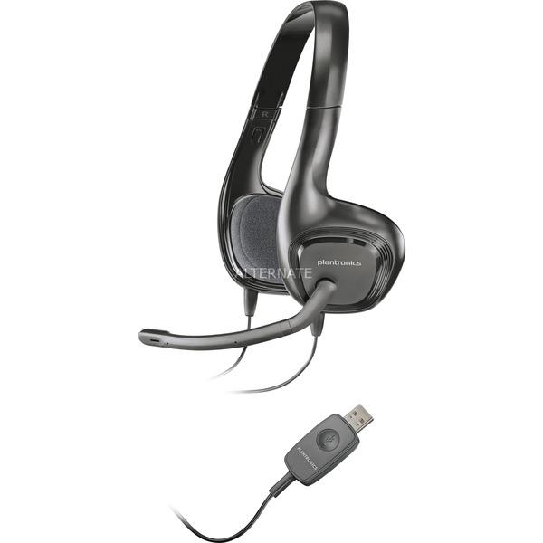 Audio 622 Binaural Bandeau Noir Casque audio, Casque d'écoute