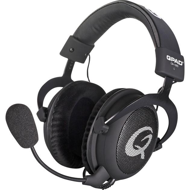 QH-85 Binaural Bandeau Noir Casque audio, Casque d'écoute