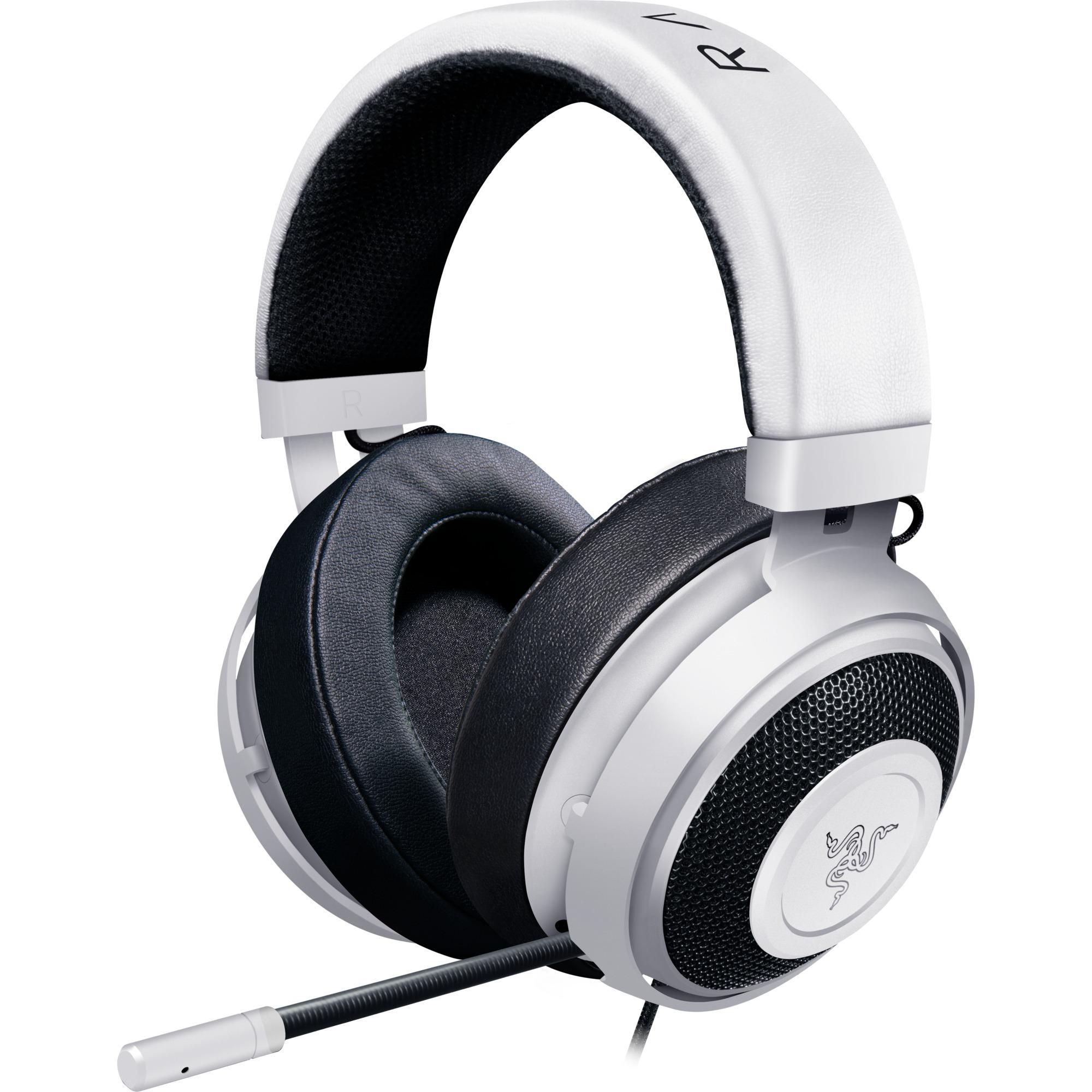 Kraken Pro V2 Binaural Bandeau Blanc Casque audio, Casque d'écoute