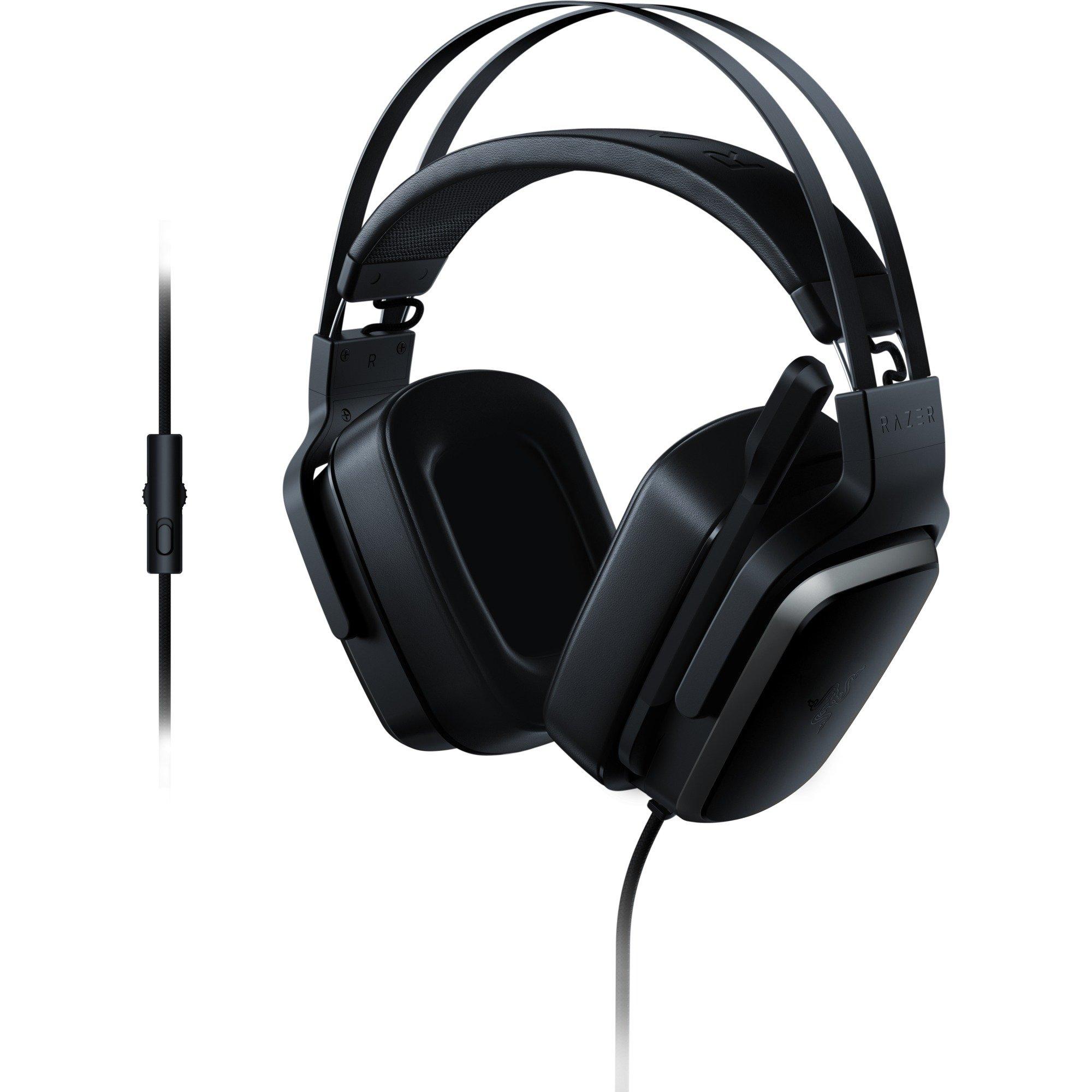 Tiamat 2.2 V2 Binaural Bandeau Noir Casque audio, Casque d'écoute