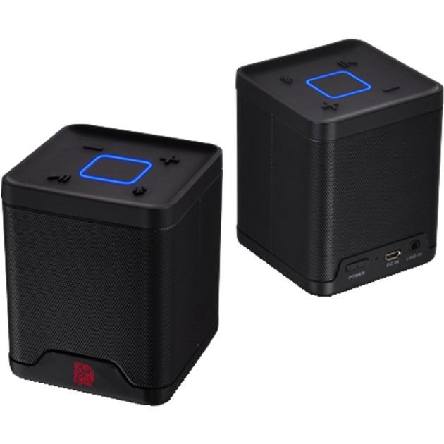 BATTLE DRAGON Enceinte portable stéréo 6W Noir, Haut-parleur
