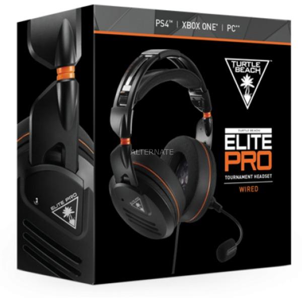 Elite Pro Binaural Bandeau Noir Casque audio, Casque d'écoute