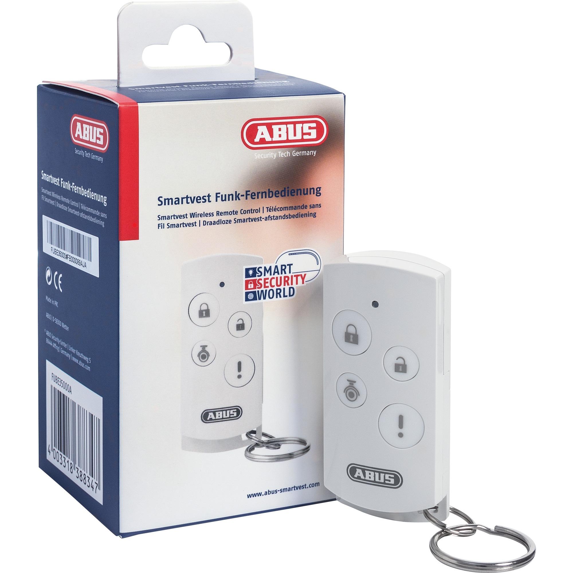 FUBE35000A RF sans fil Appuyez sur les boutons Blanc télécommande