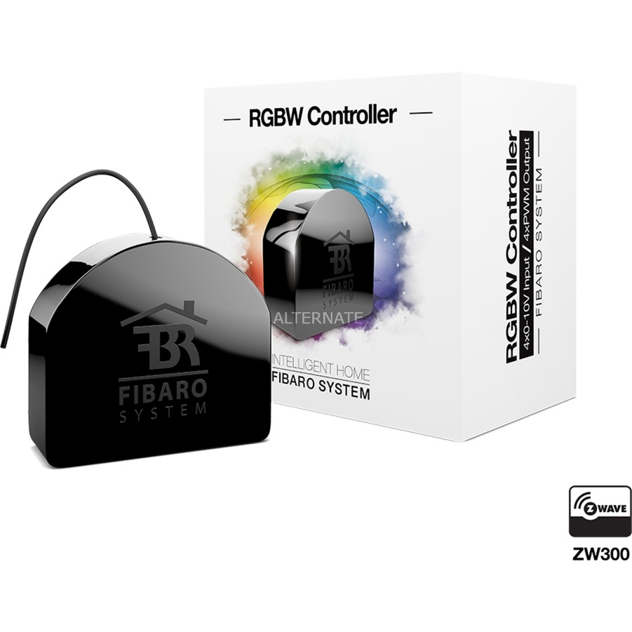 RGB Module Z-Wave Noir contrôleur d'éclairage domestique intelligent